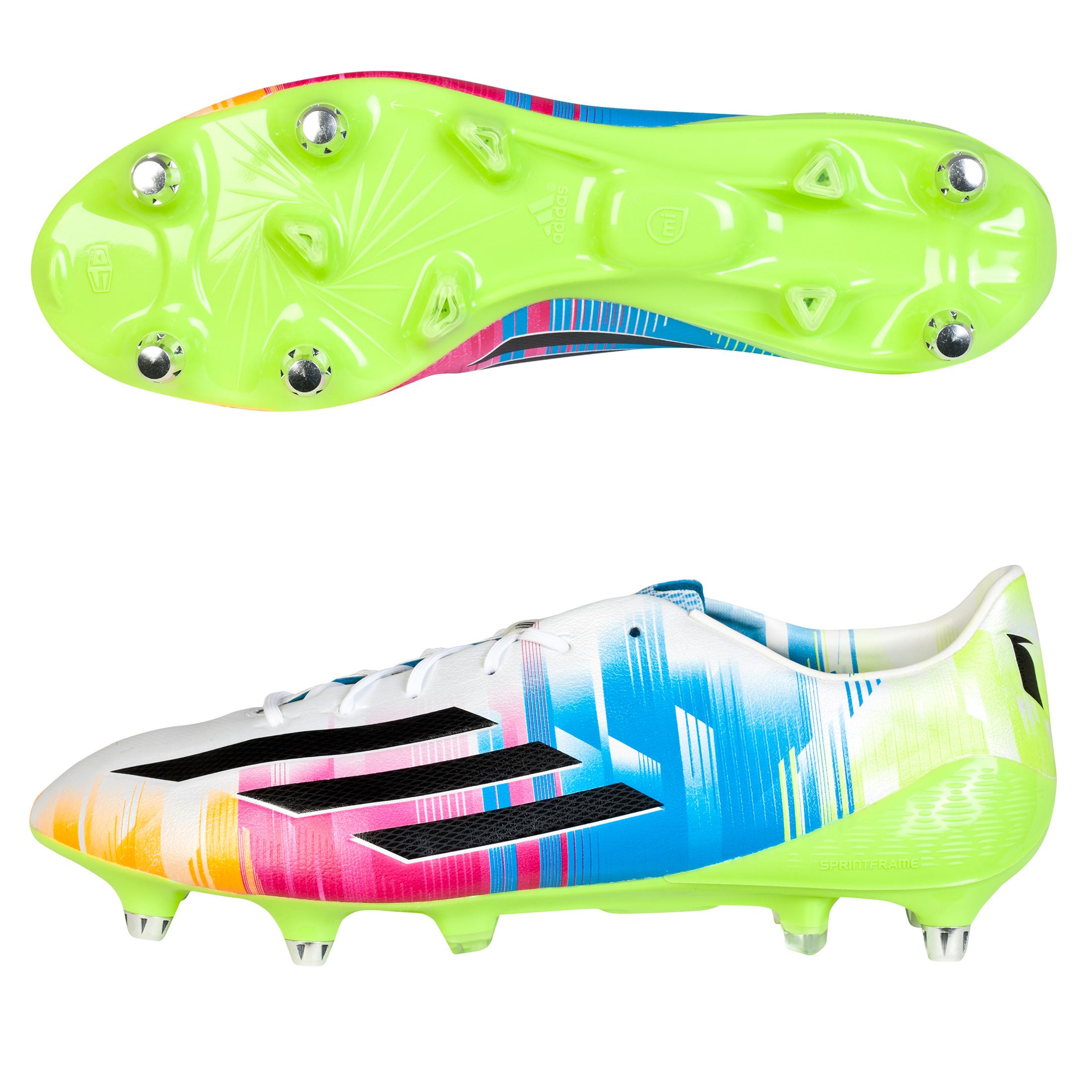 Adidas F50 adiZero Messi XTRX Soft Ground Football Boots White