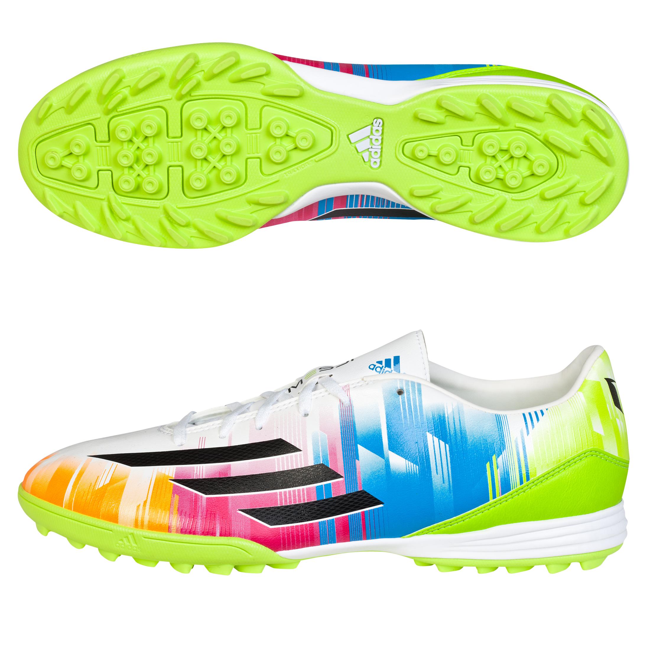 Adidas F10 Messi TRX Astroturf White