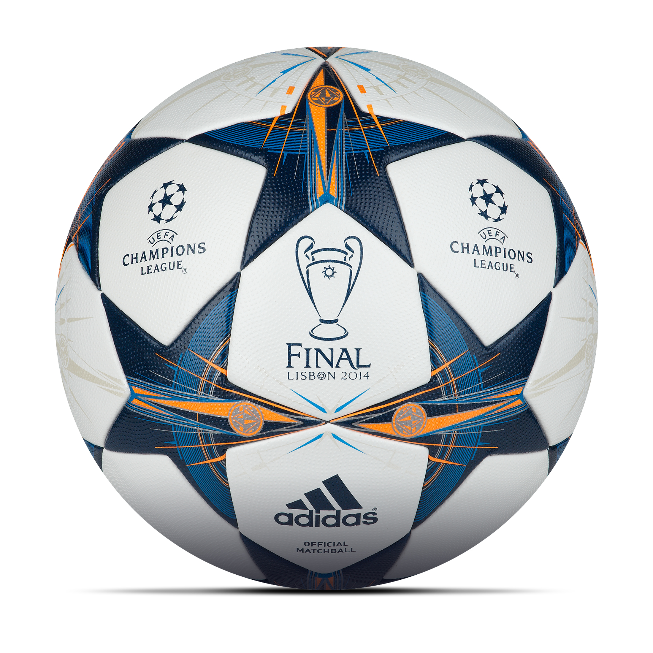 Adidas UEFA Champions League 2013/14 Final Official Match Ball White