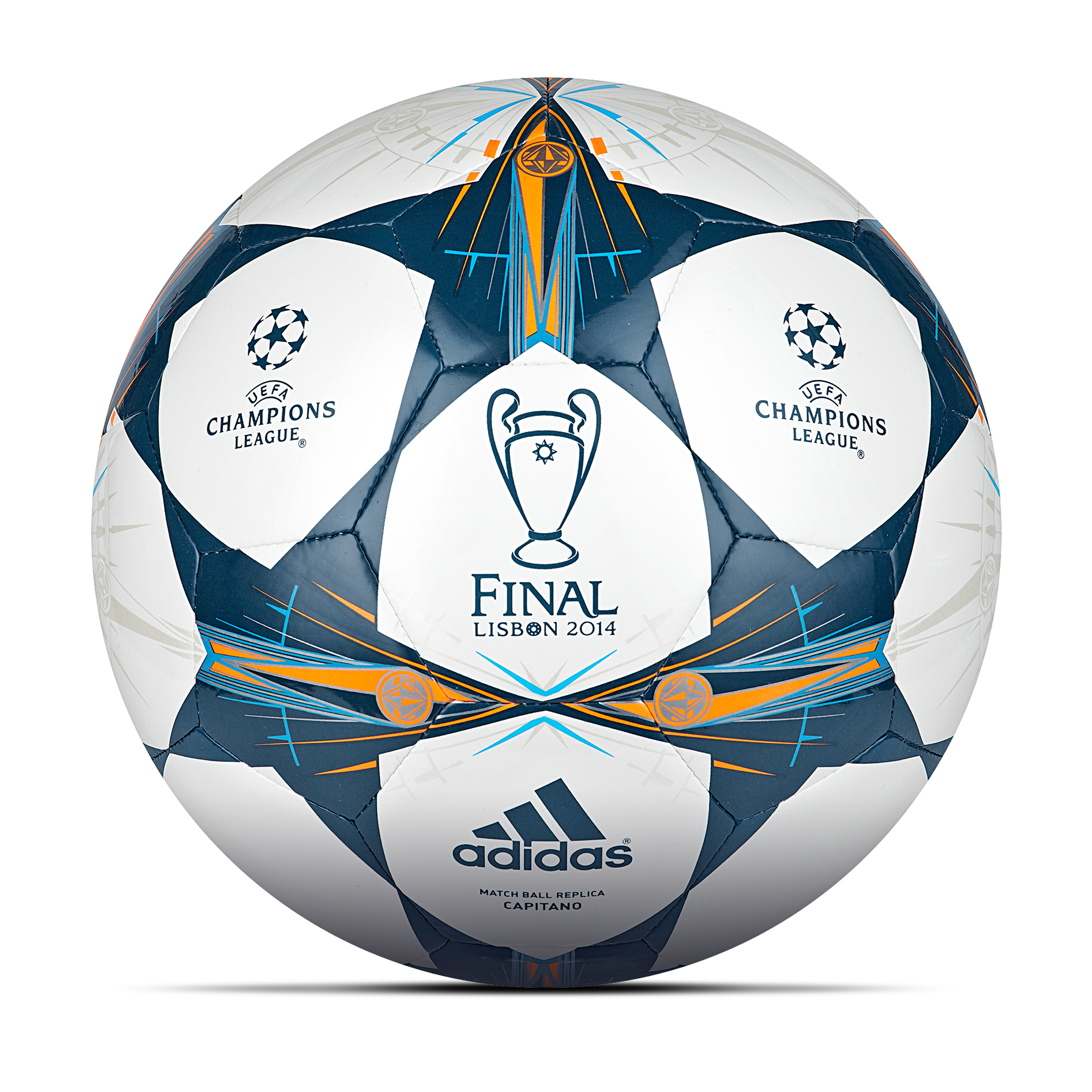Adidas UEFA Champions League 2013/14 Final Capitano Football White