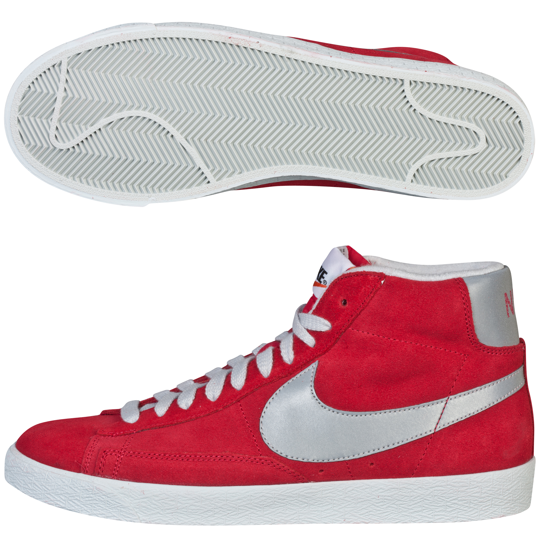 Nike Blazer Mid Prm Vintage Suede Red