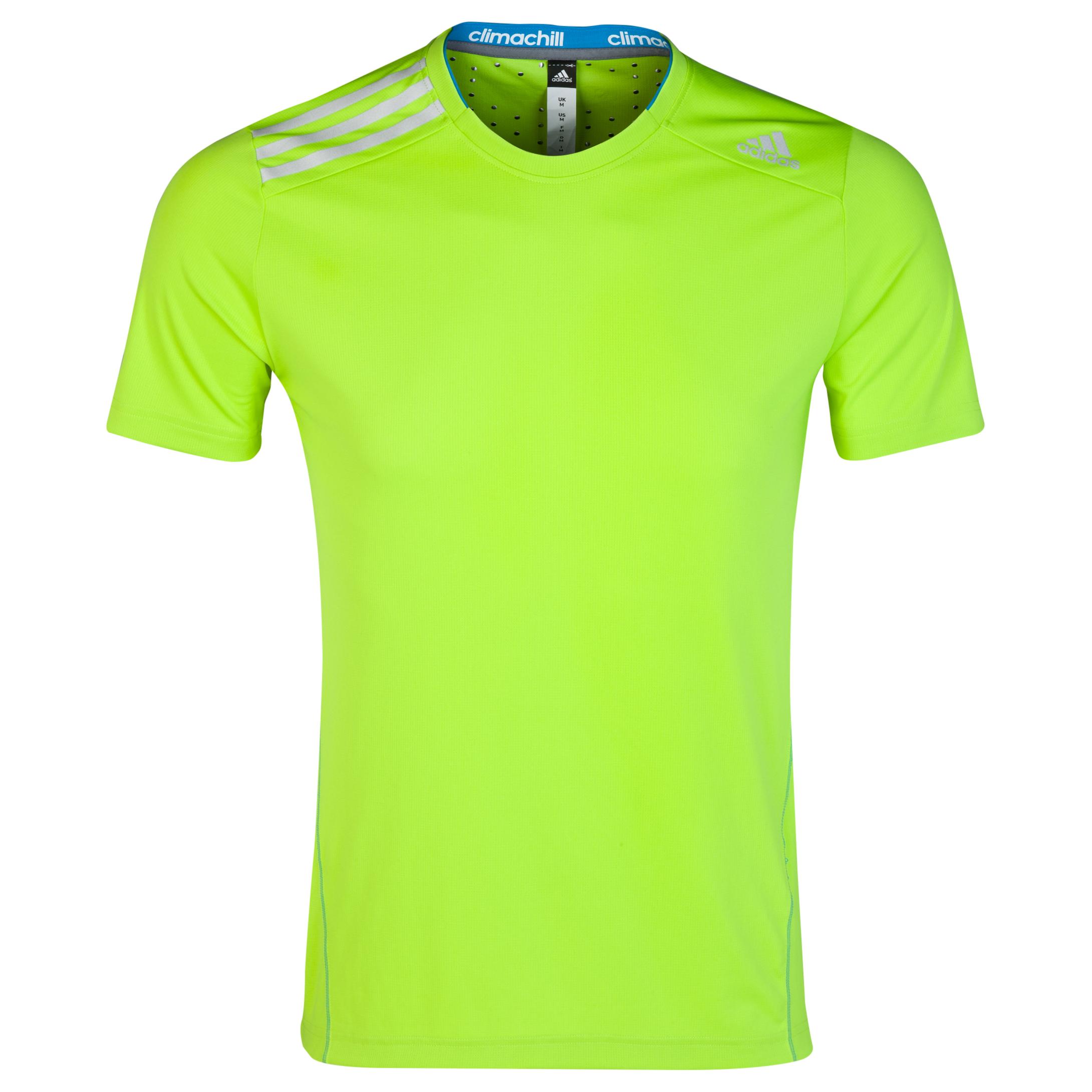 Adidas Climachill T-Shirt Lt Green