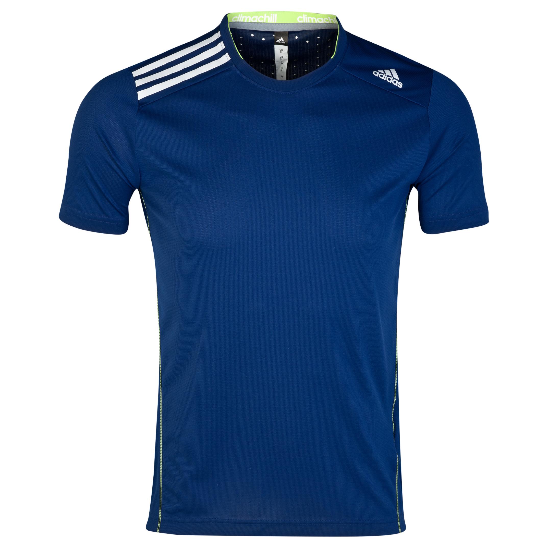 Adidas Climachill T-Shirt Blue
