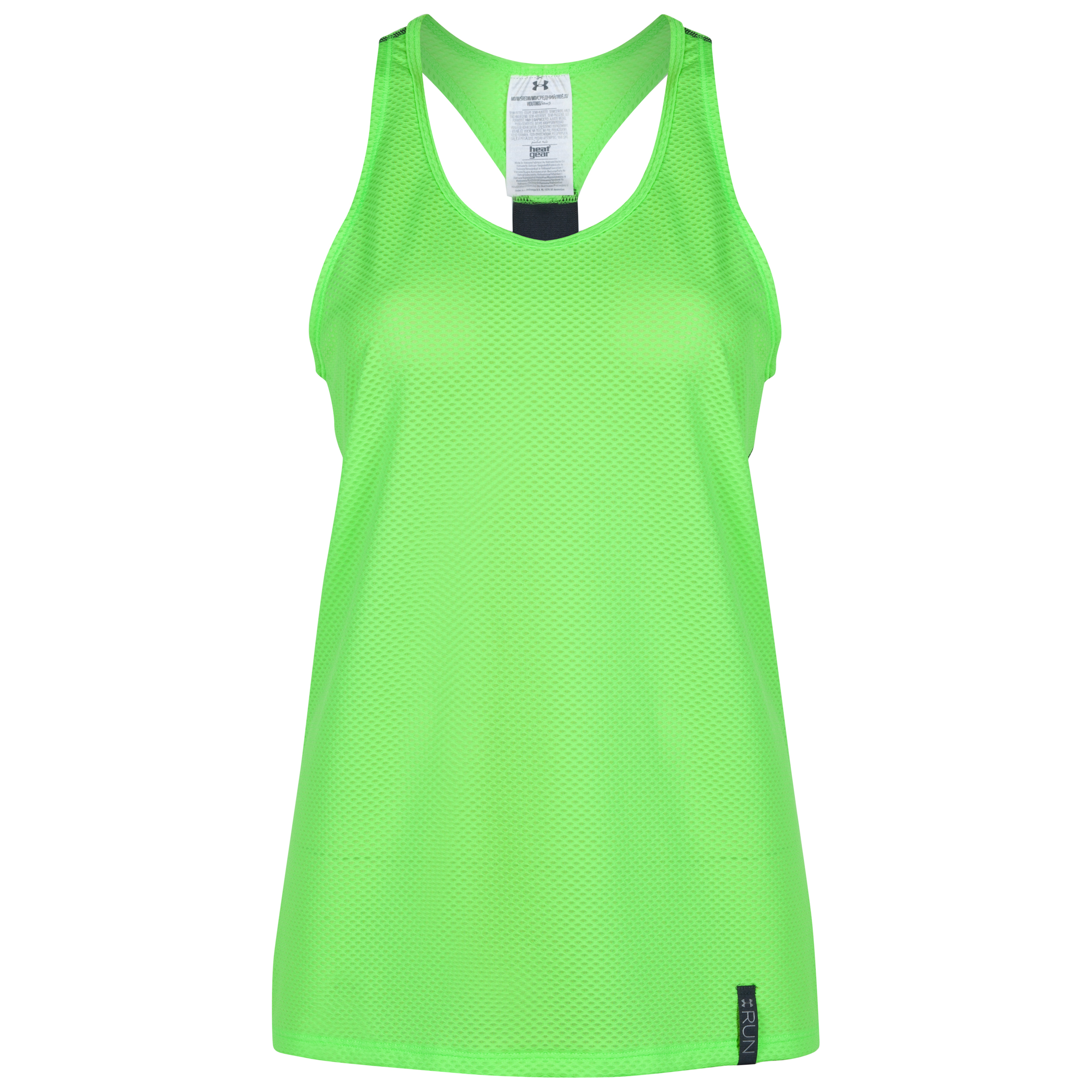 Under Armour Fly By Stretch Mesh Tank - Womens Green