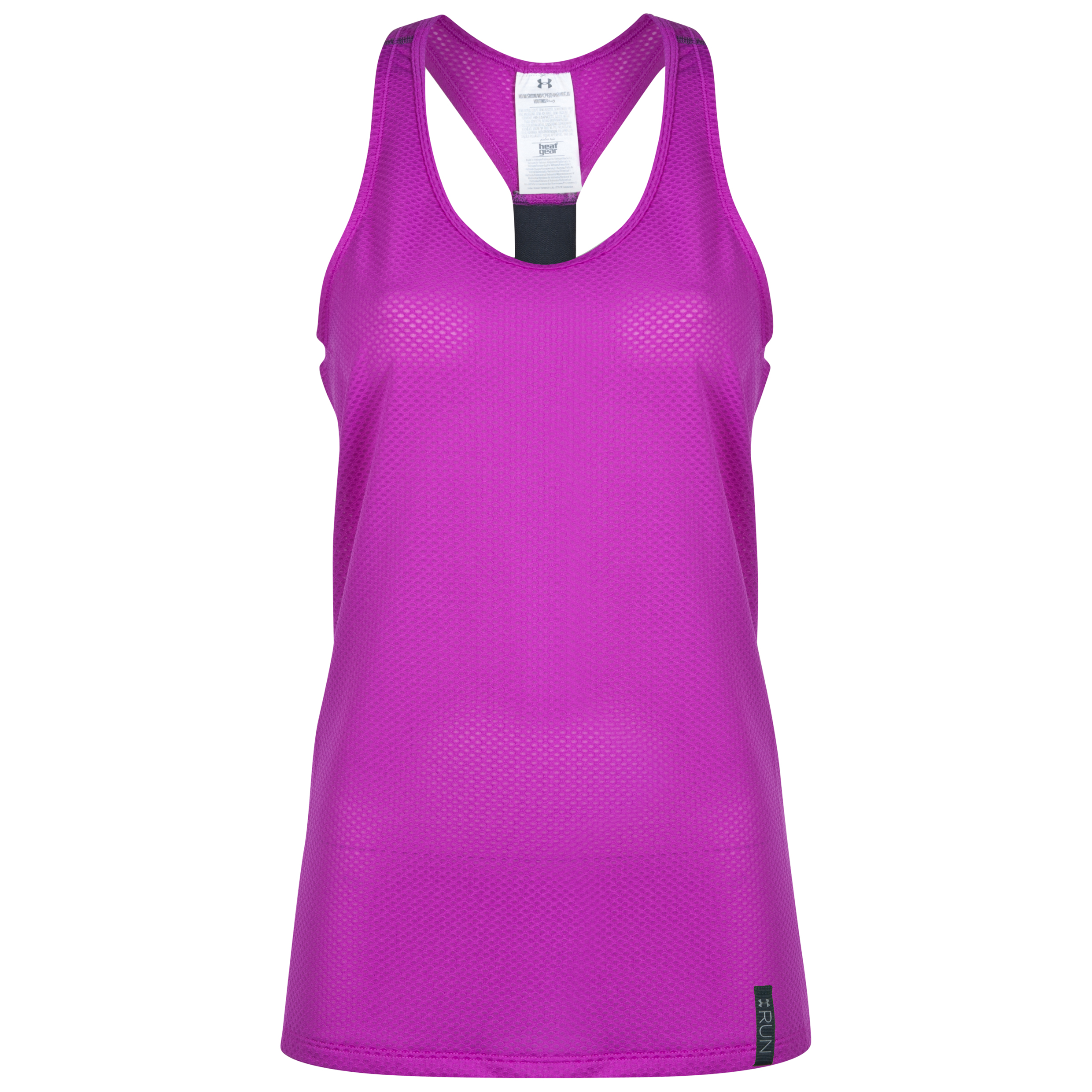 Under Armour Fly By Stretch Mesh Tank - Womens Purple