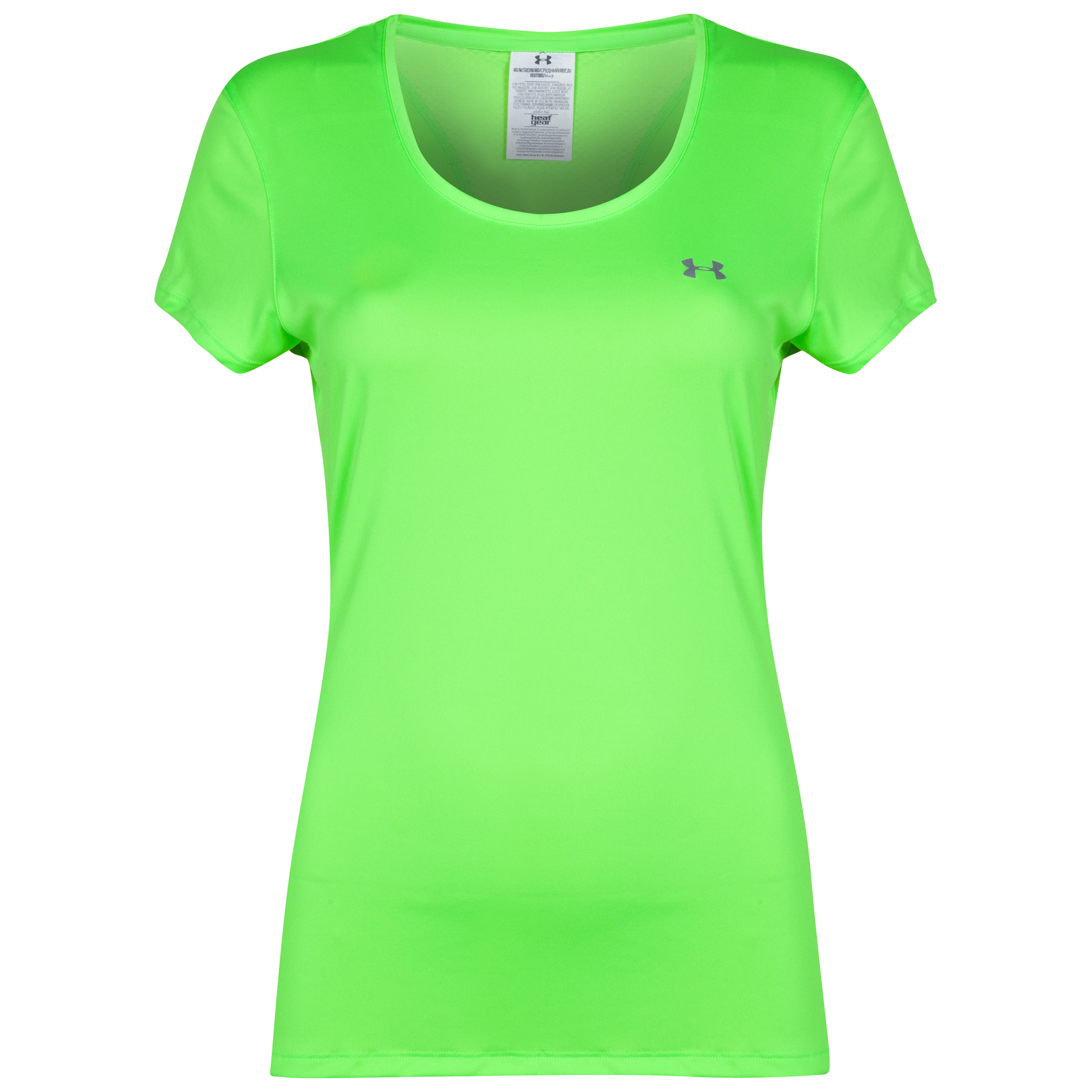 Under Armour Heat Gear Flyweight Tee - Womens Green