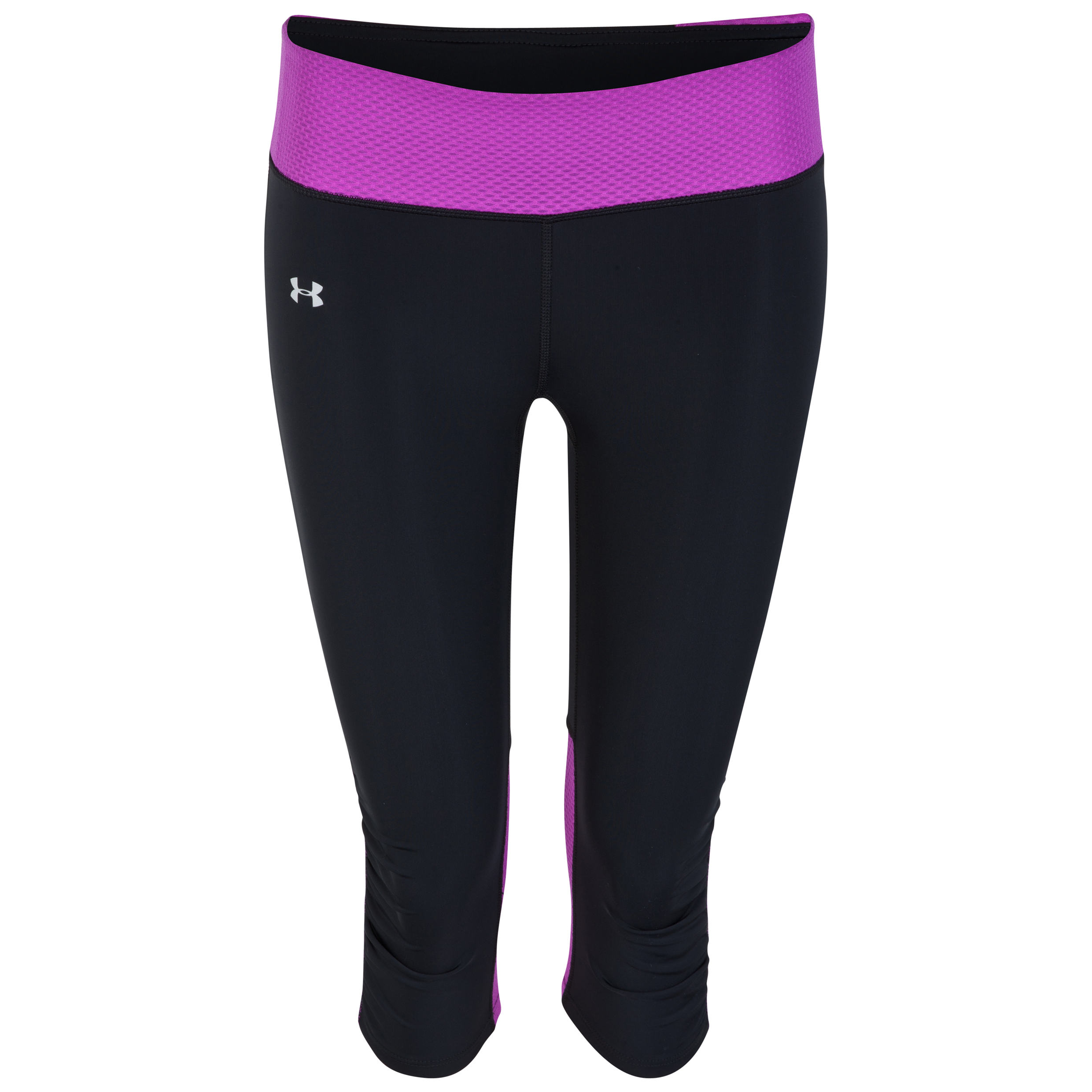 Under Armour Fly By Compression Capri - Womens Black