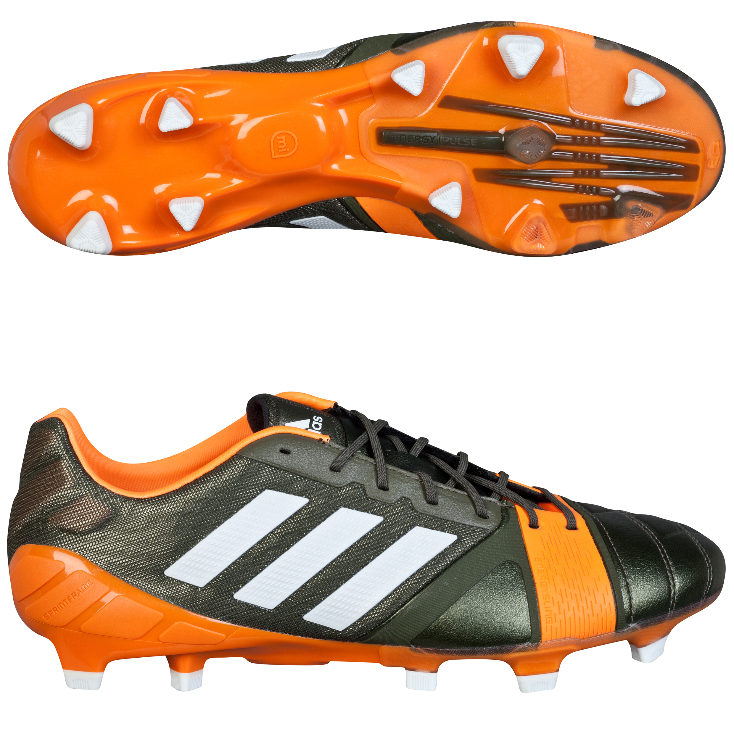 Adidas Nitrocharge 1.0 TRX Firm Ground Football Boots Dk Green