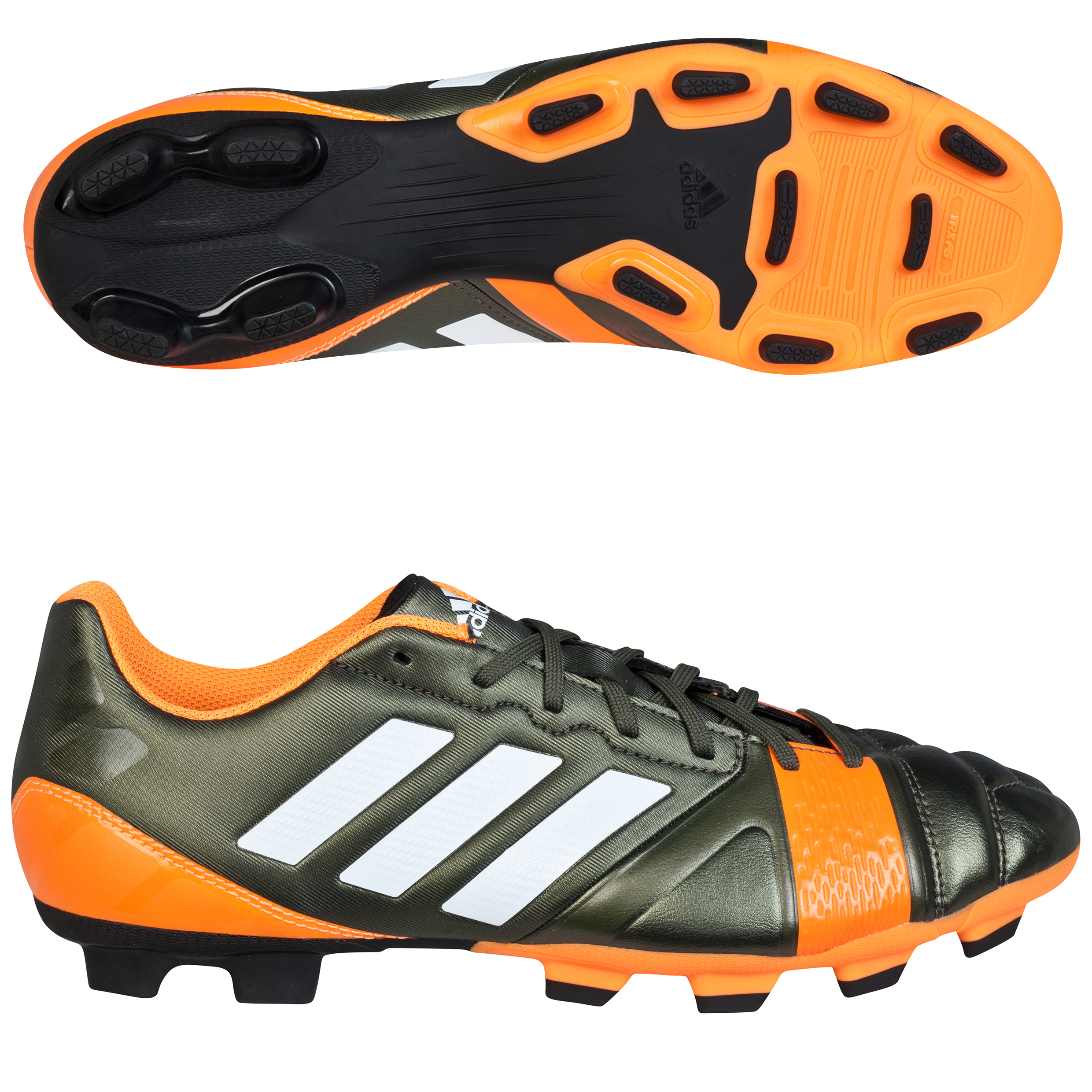 adidas Nitrocharge 3.0 TRX Firm Ground Football Boots Dk Green