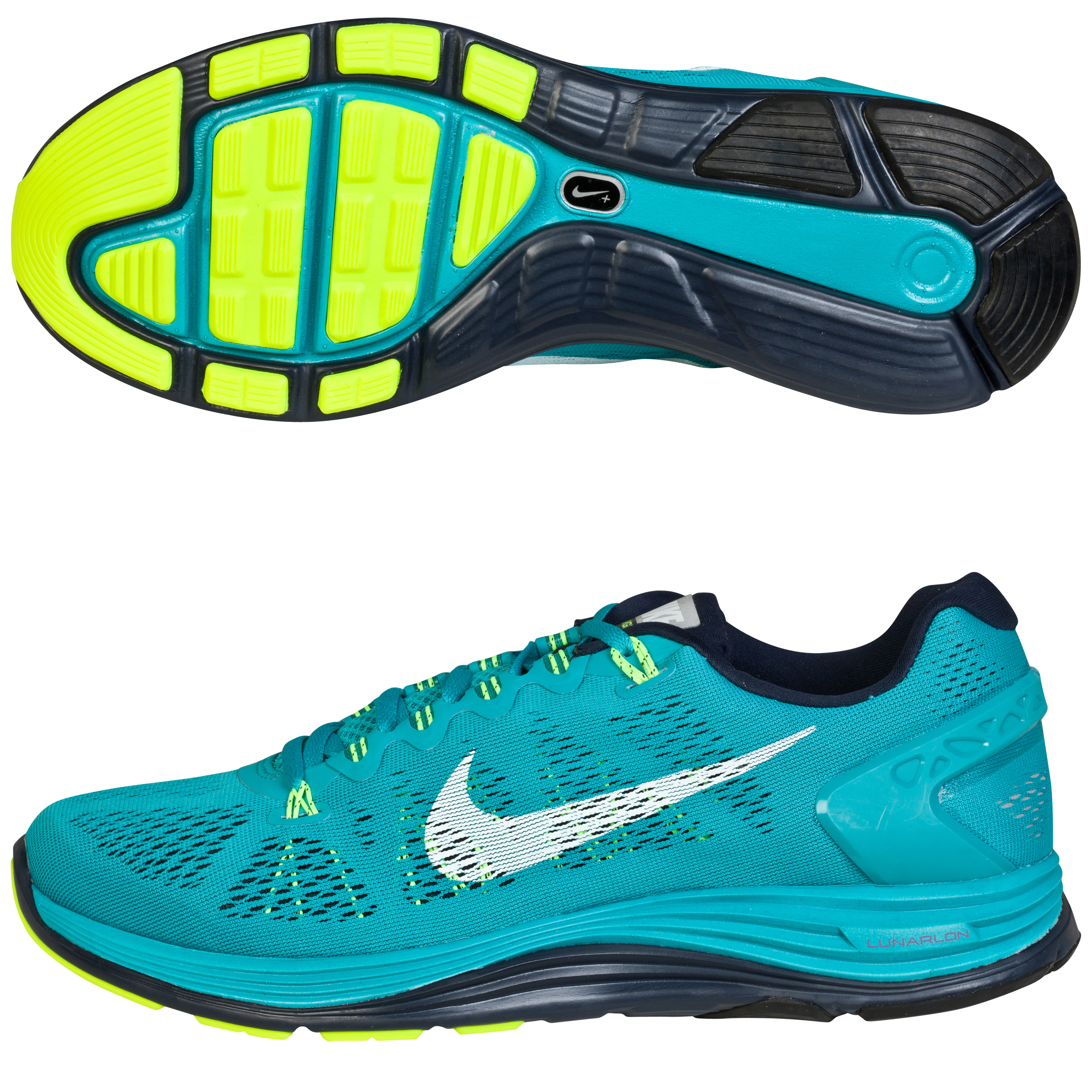 Nike Lunarglide(+) 5 Trainers Green