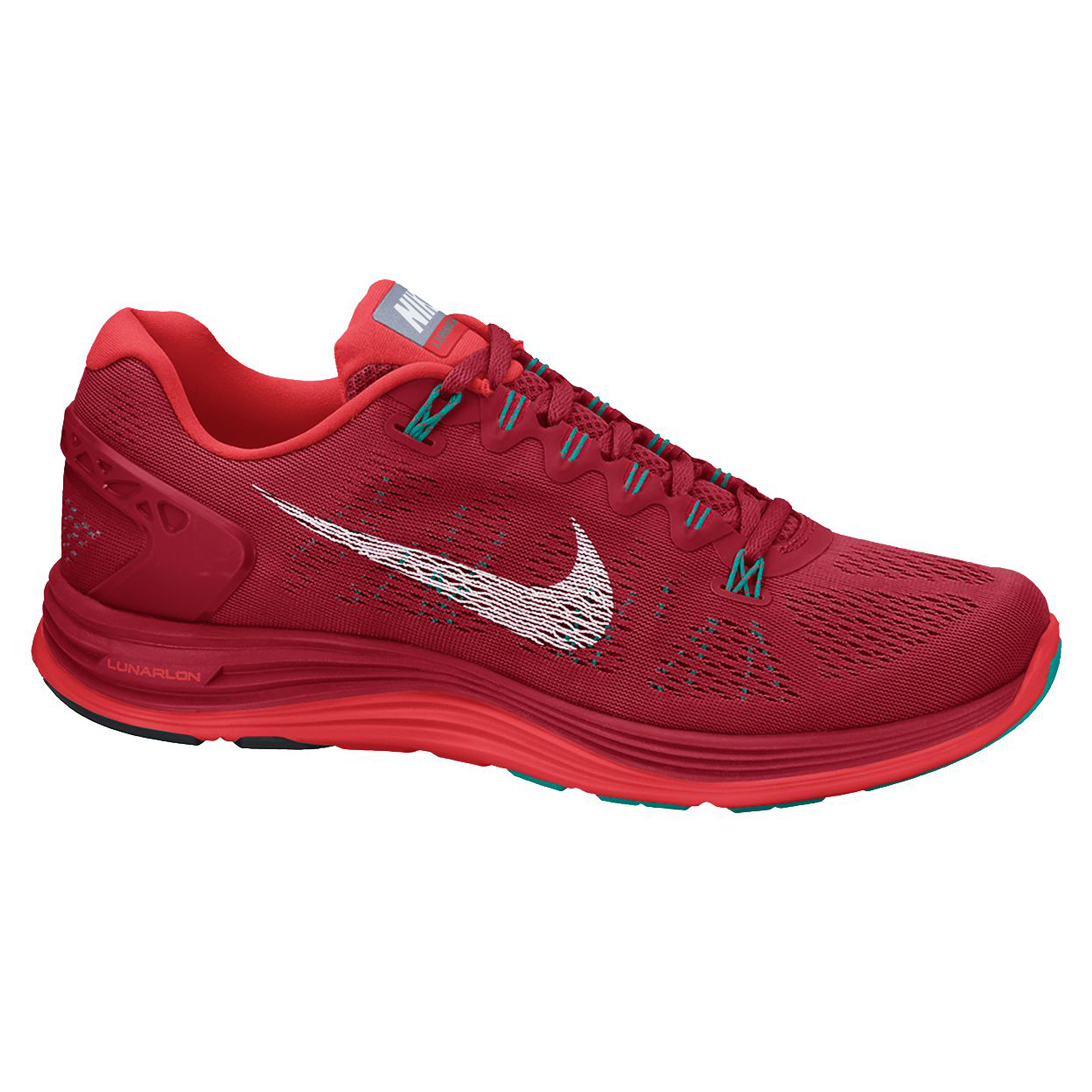 Nike Lunarglide(+) 5 Trainers Red