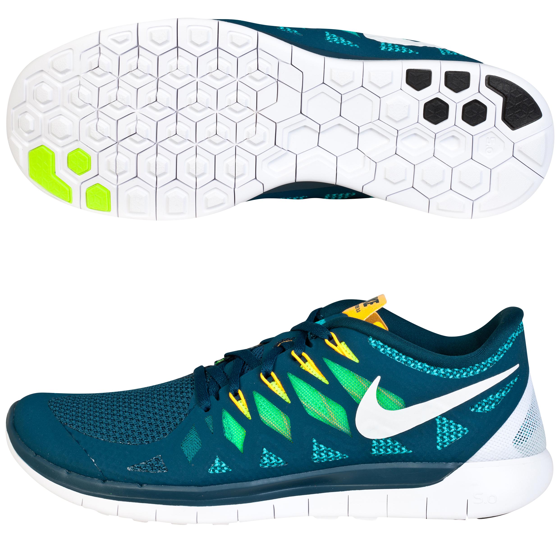 Nike Free 5.0 14 Trainers Dk Green