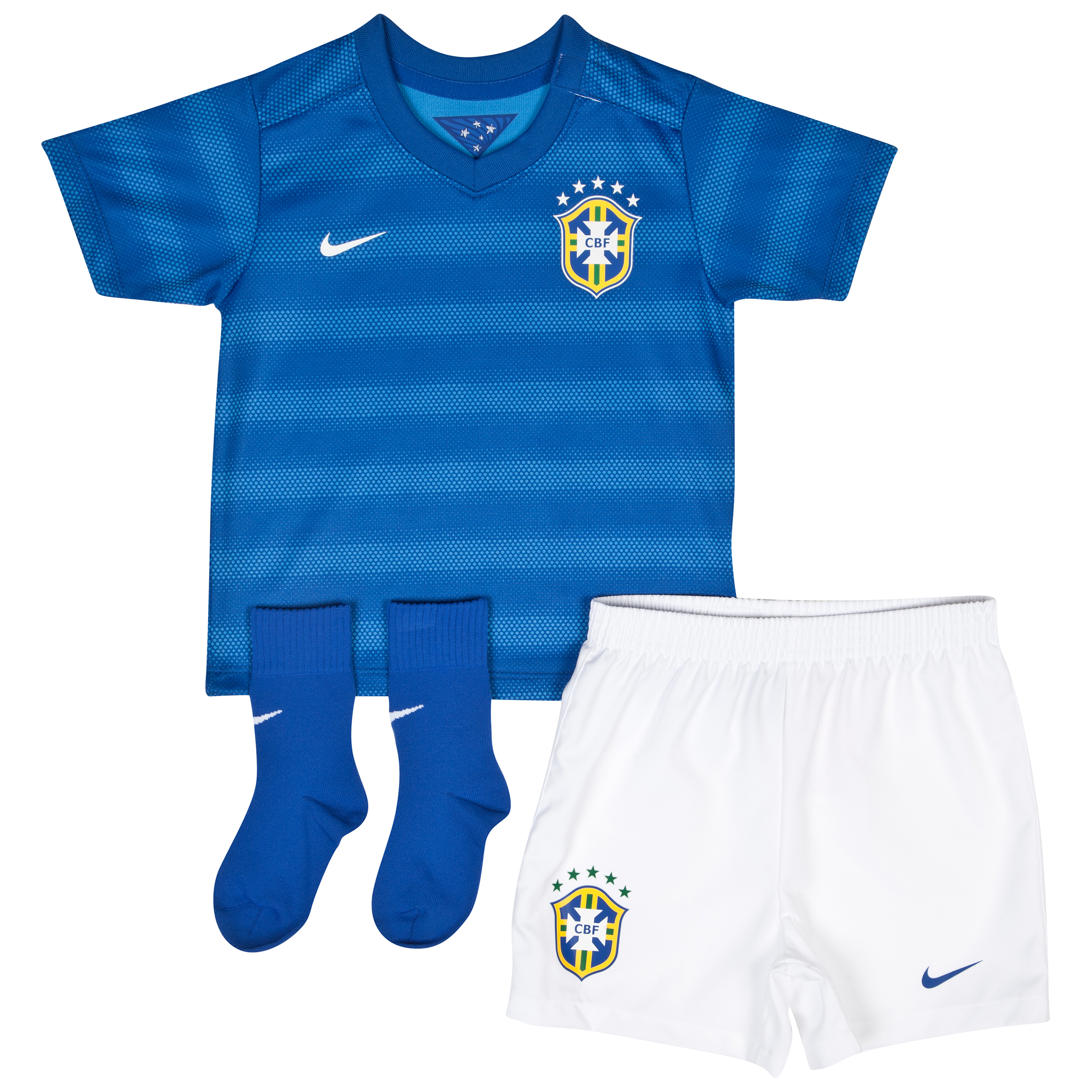 Brazil Away Kit 2014 - Infants Royal Blue