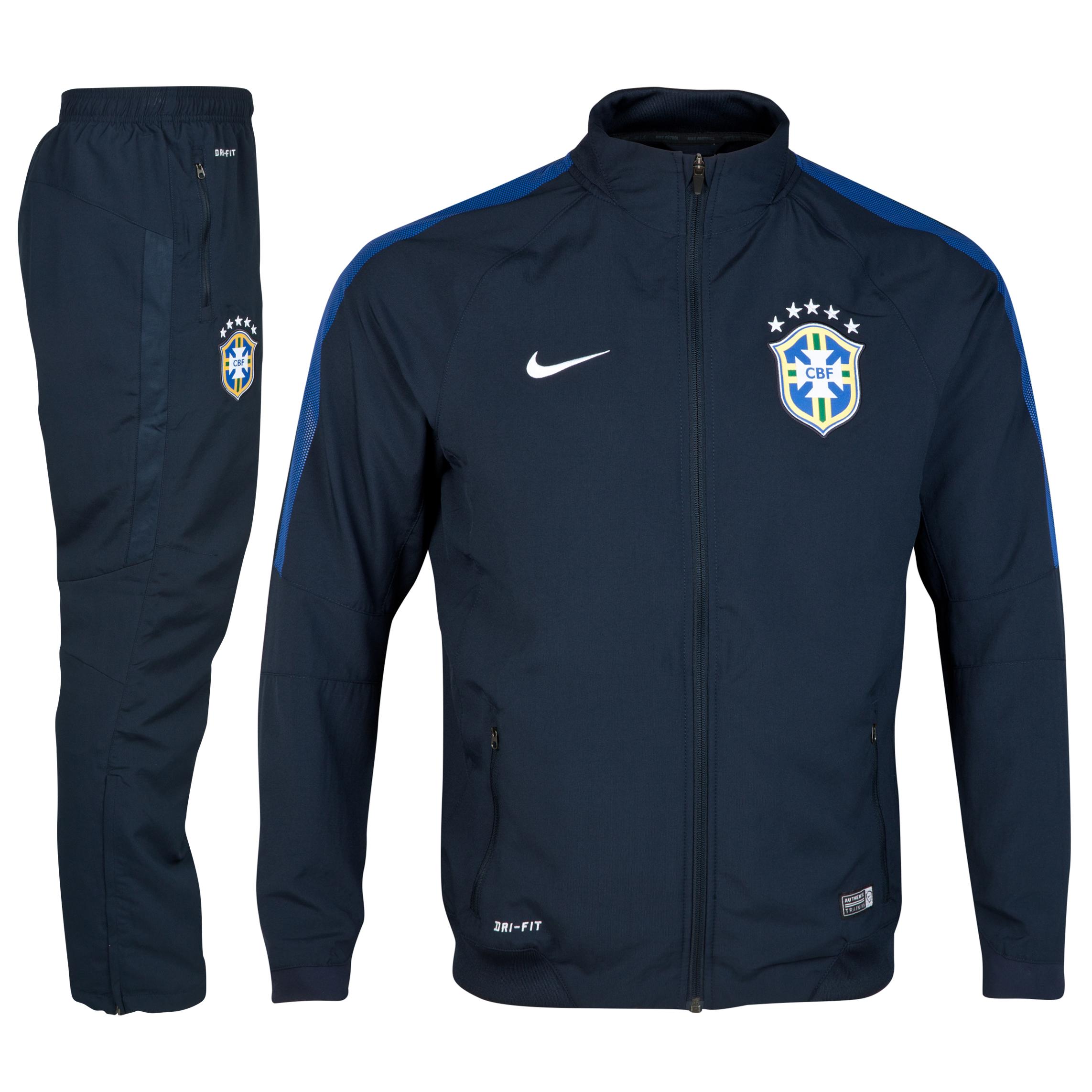 Brazil Squad Sideline Woven Tracksuit