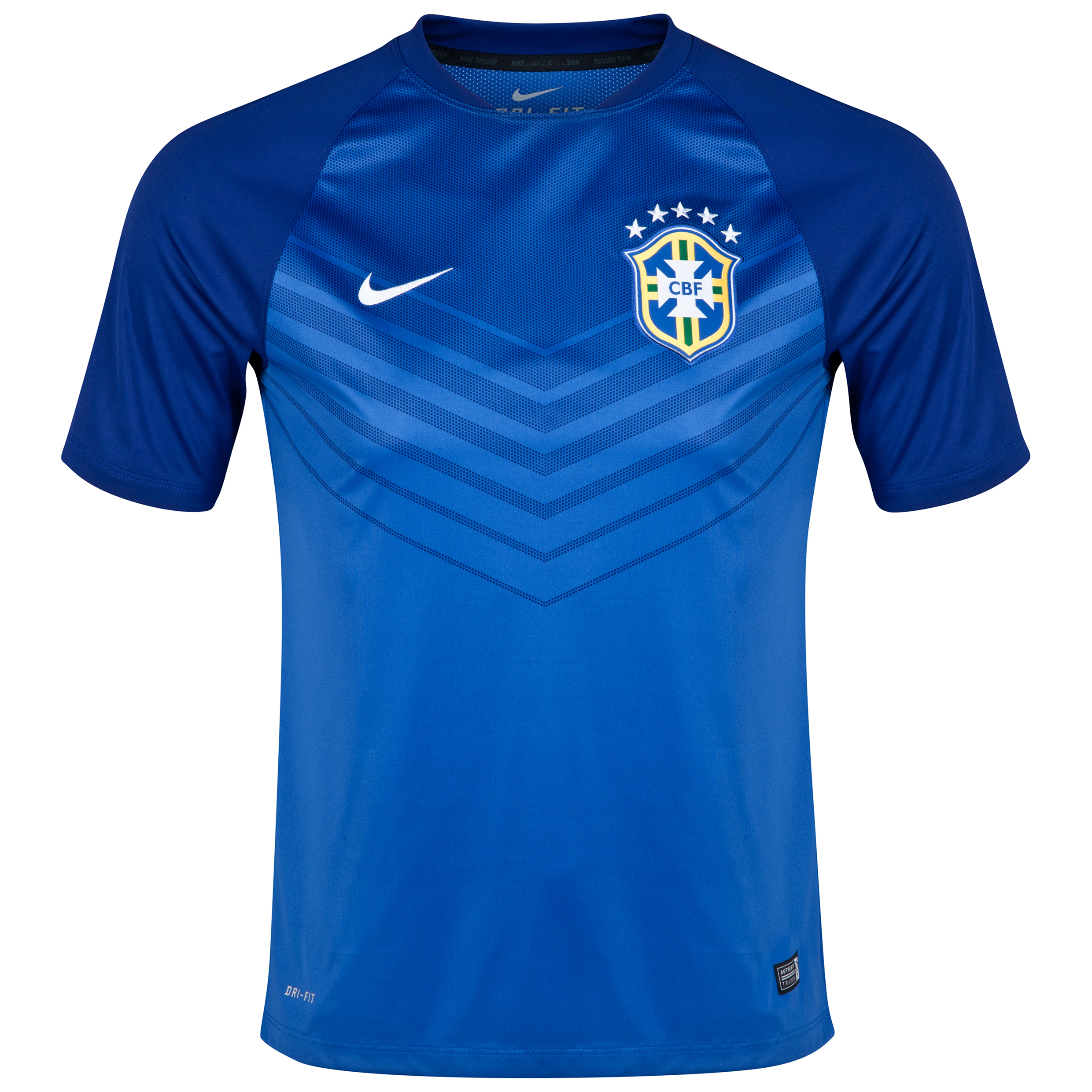Brazil Squad Short Sleeve Pre Match Top