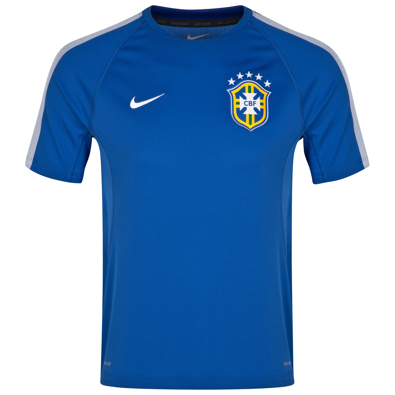 Brazil Squad Short Sleeve Training Top - Kids