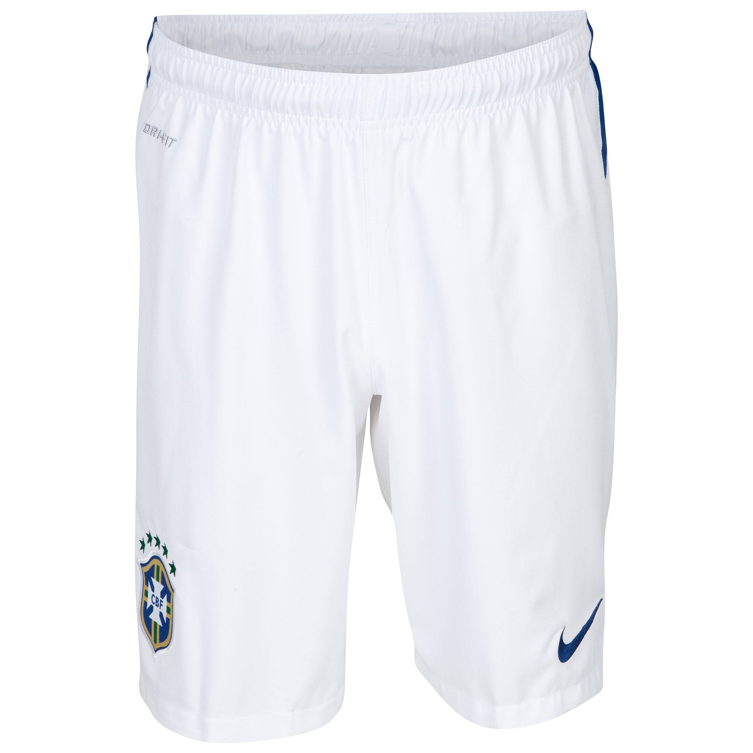 Brazil Away Short 2014/15 - Kids White