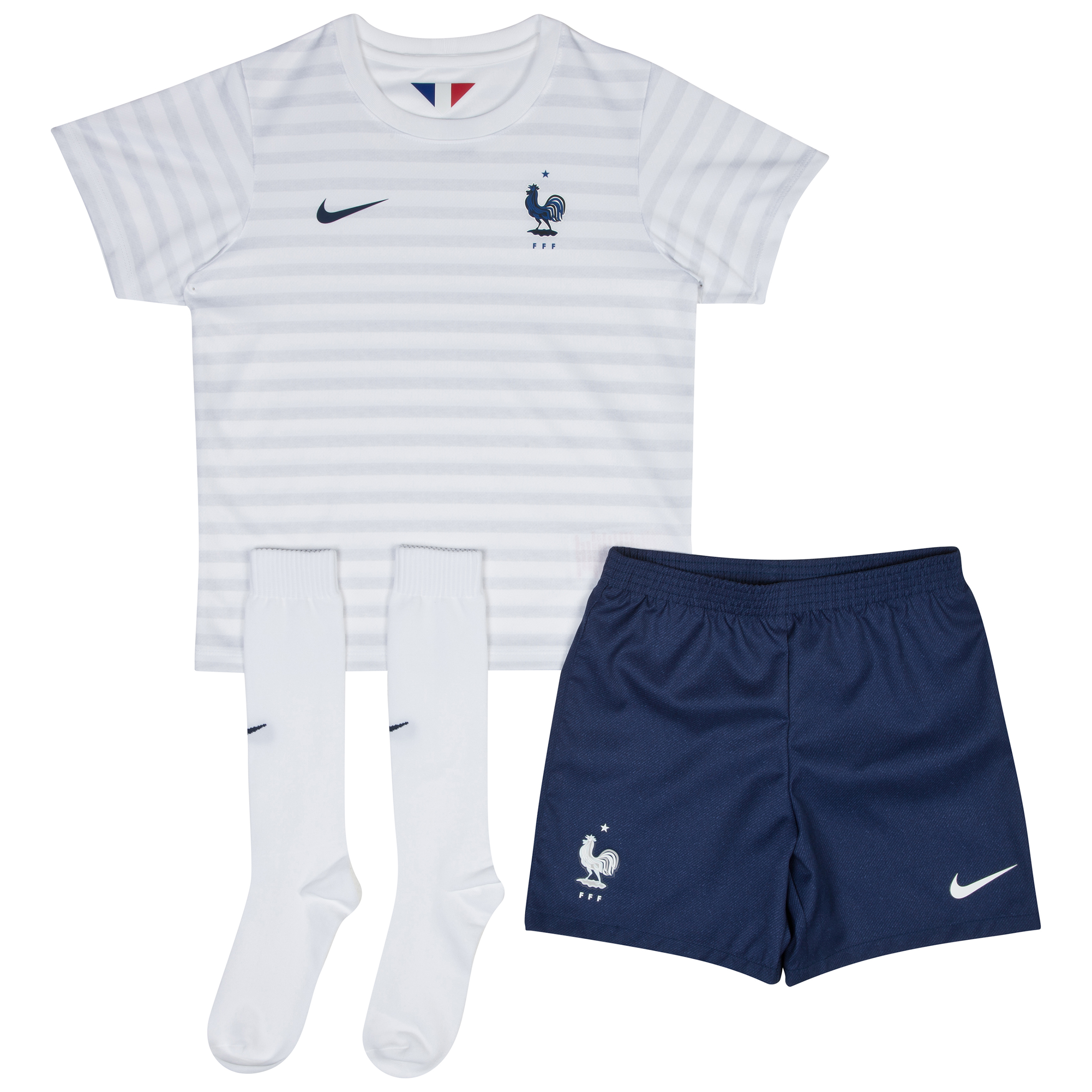 France Away Kit 2014 - Little Boys White