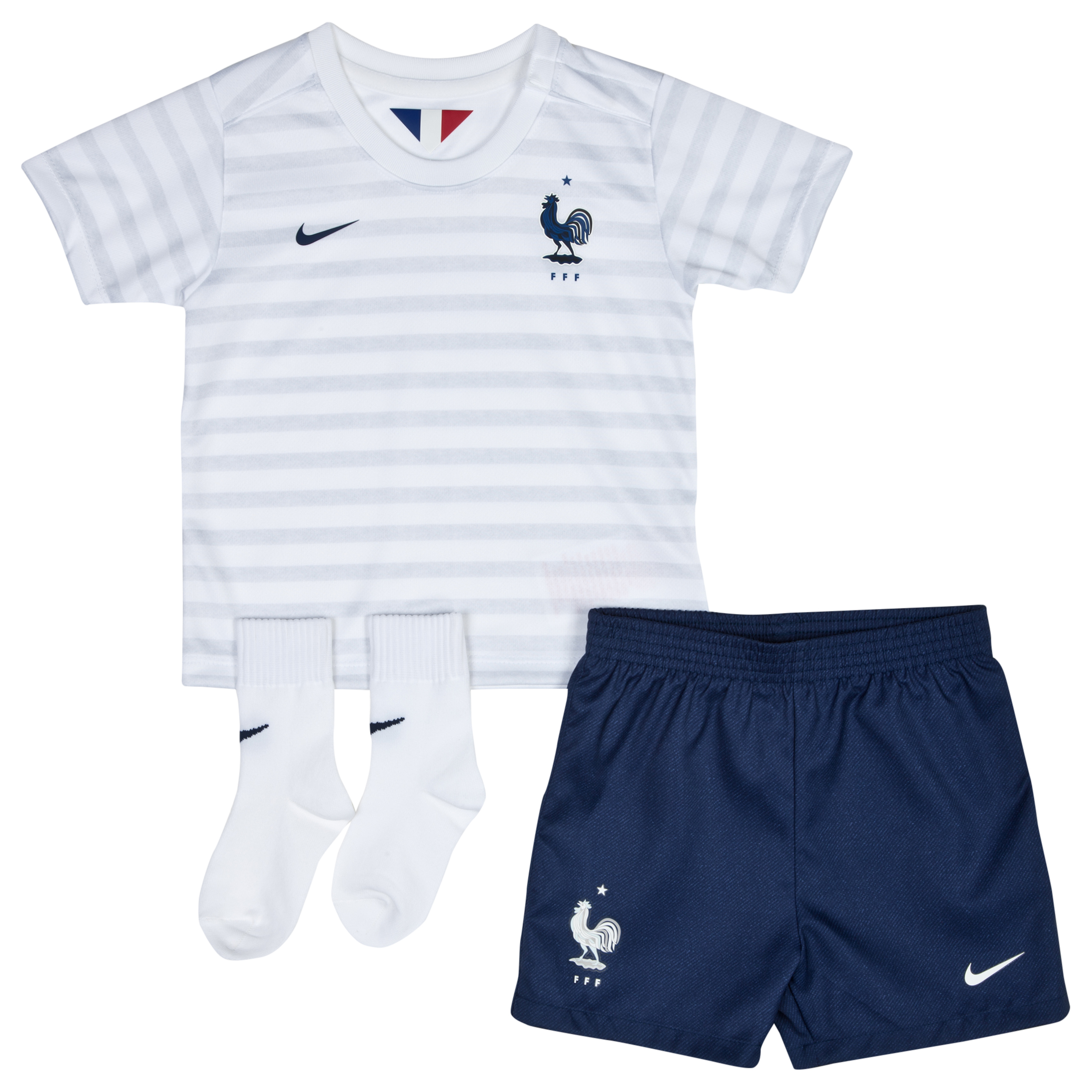 France Away Kit 2014 - Infants White