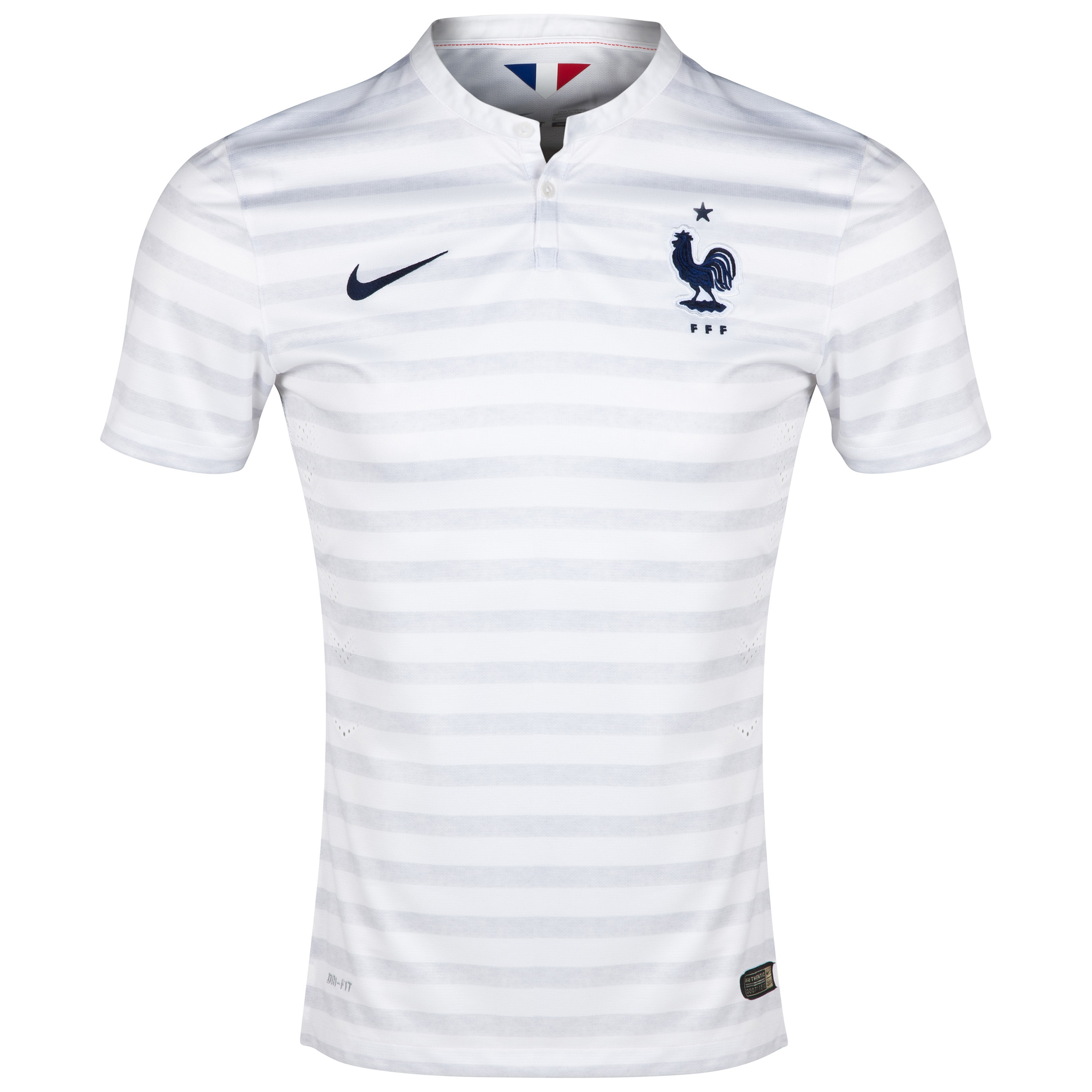 France Match Away Shirt 2014 White
