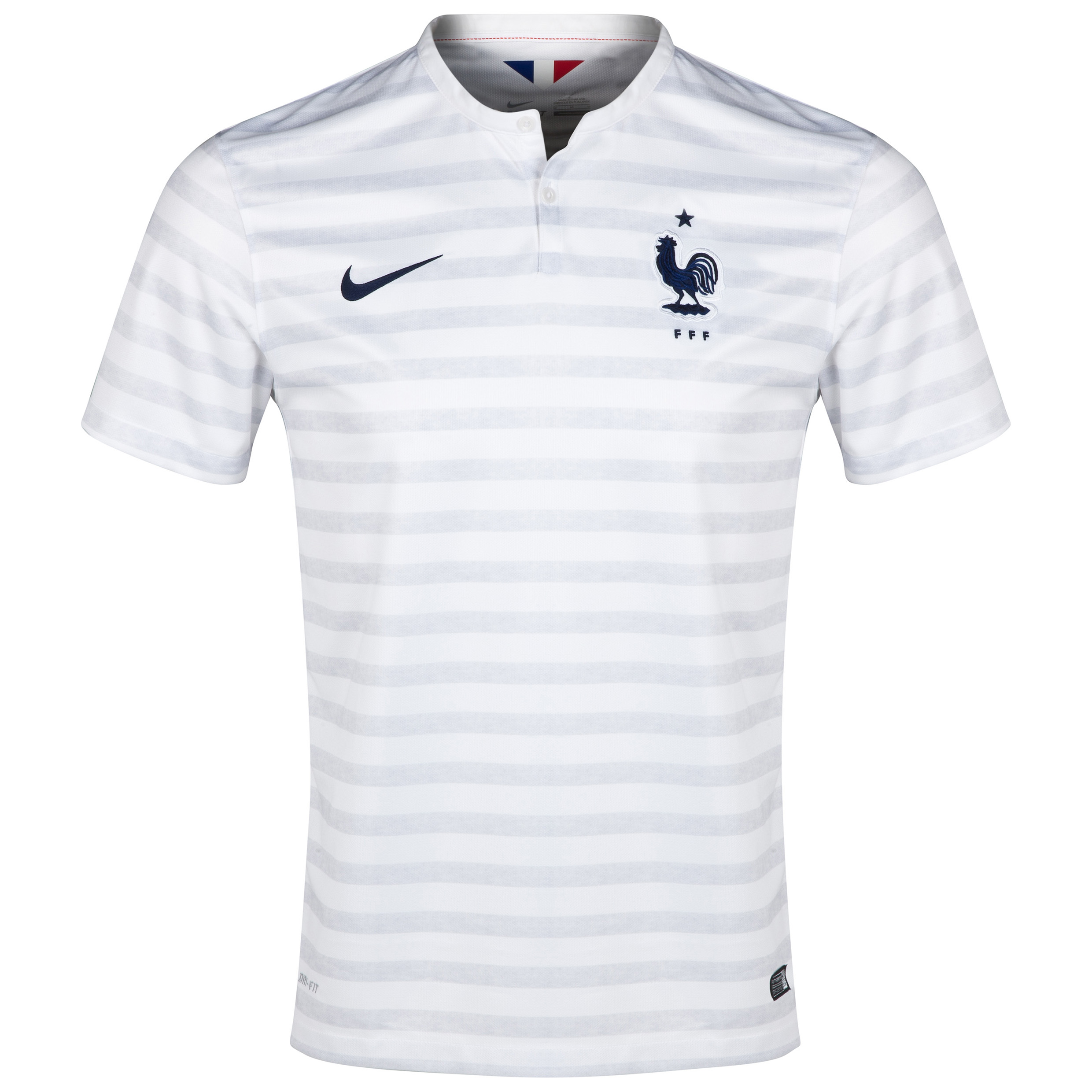 France Away Shirt 2014 White