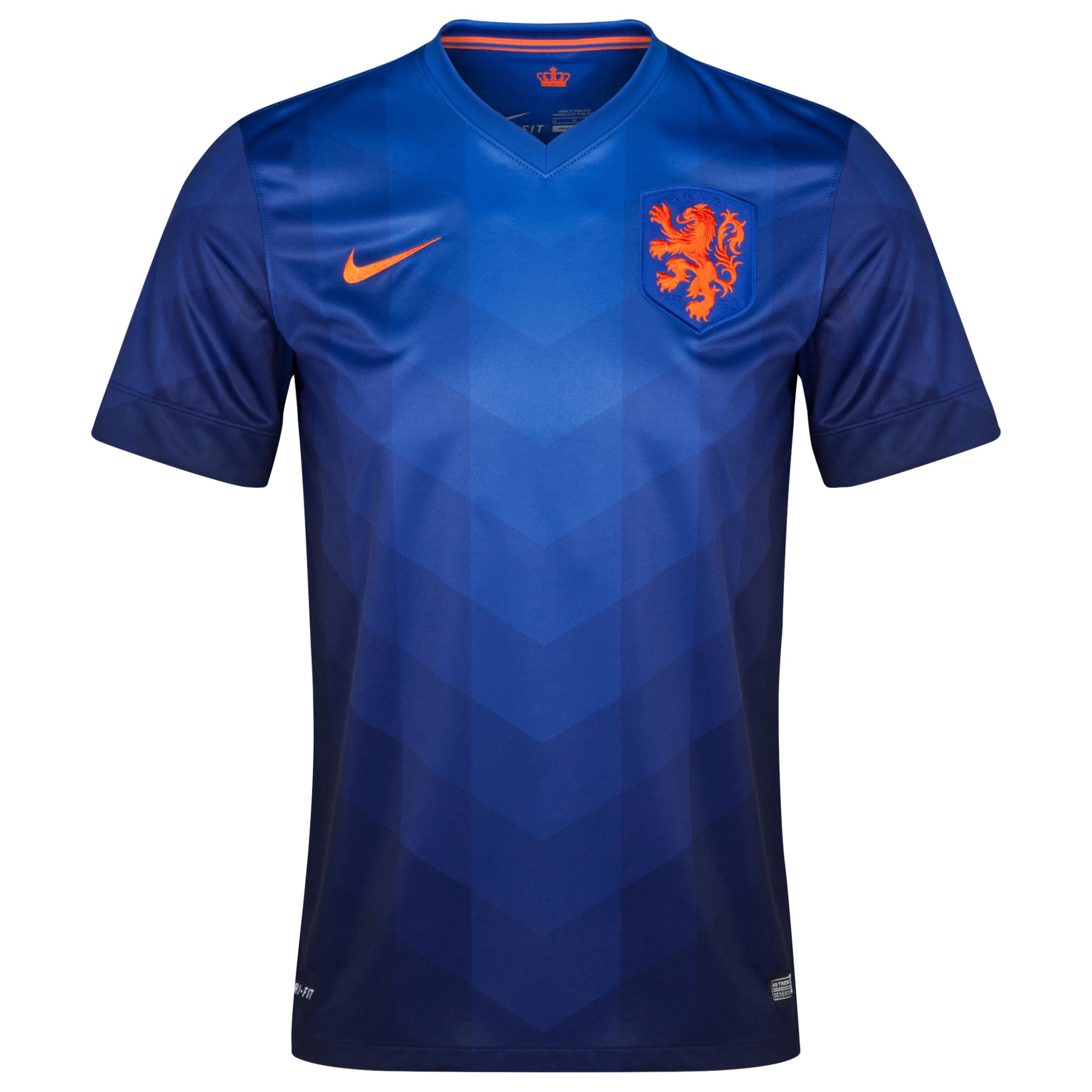 Netherlands Away Shirt 2014 - Kids Sky Blue