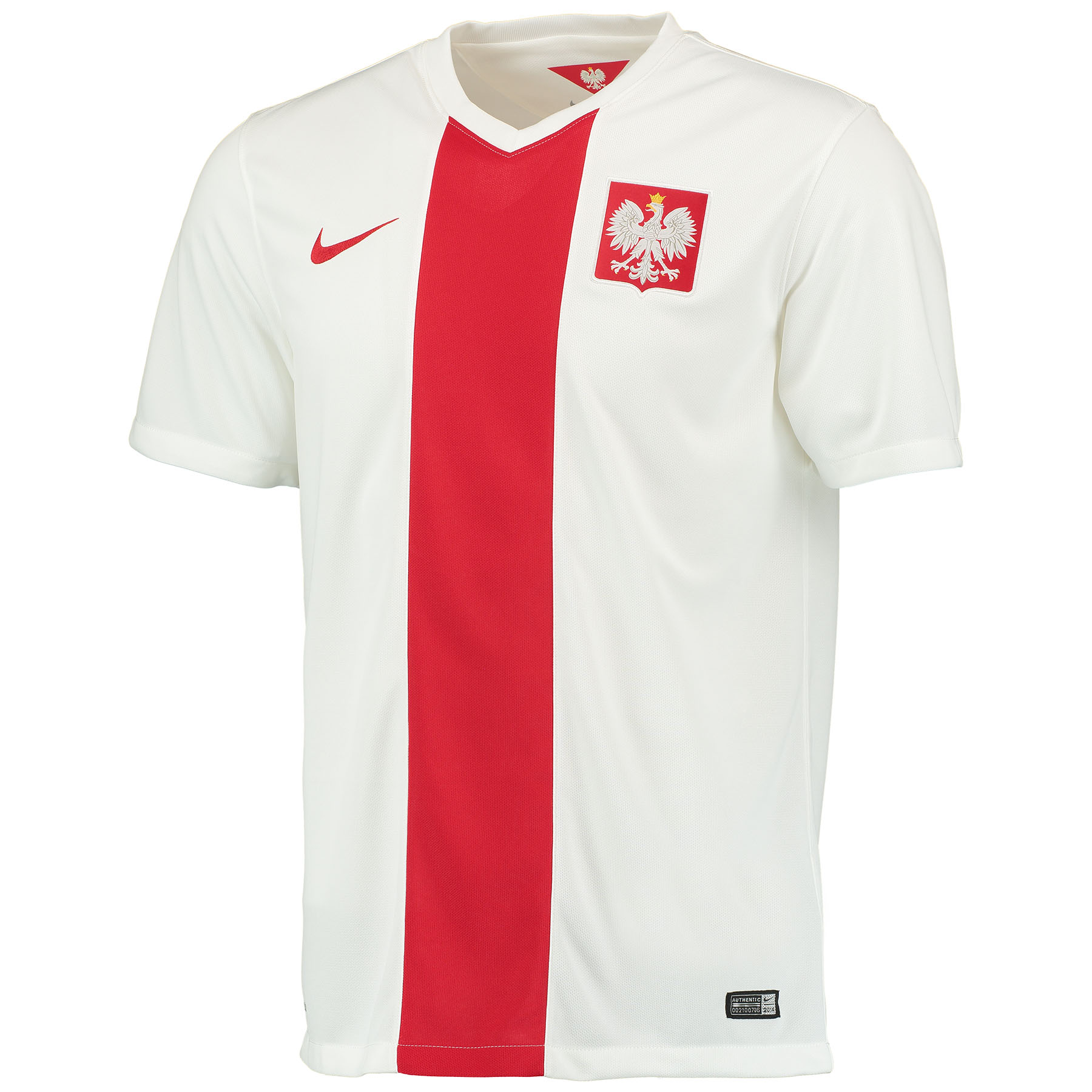 Poland Home Shirt 2014/15 White