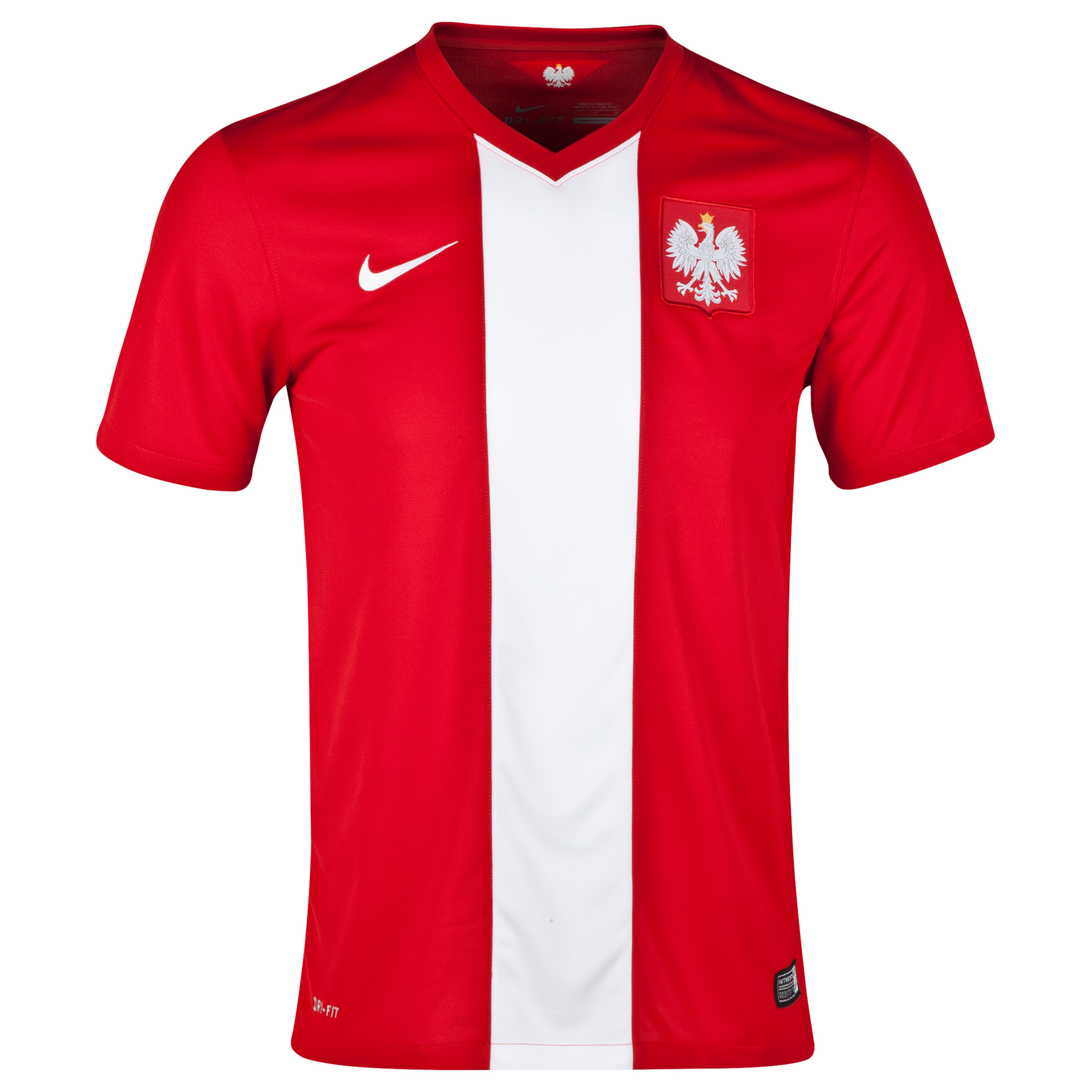 Poland Away Shirt 2014 Red