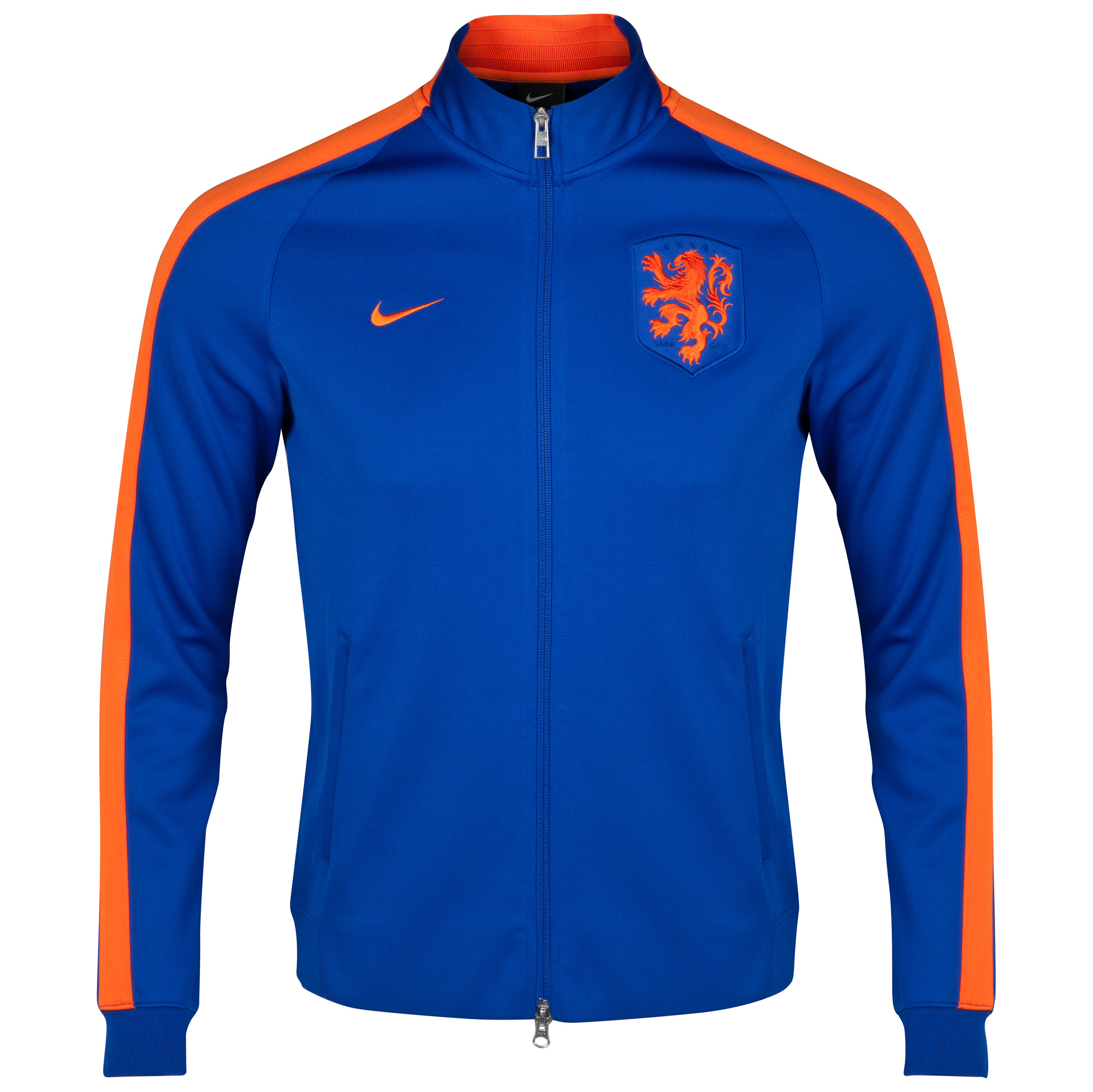 Netherlands N98 Authentic Track Jacket Royal Blue