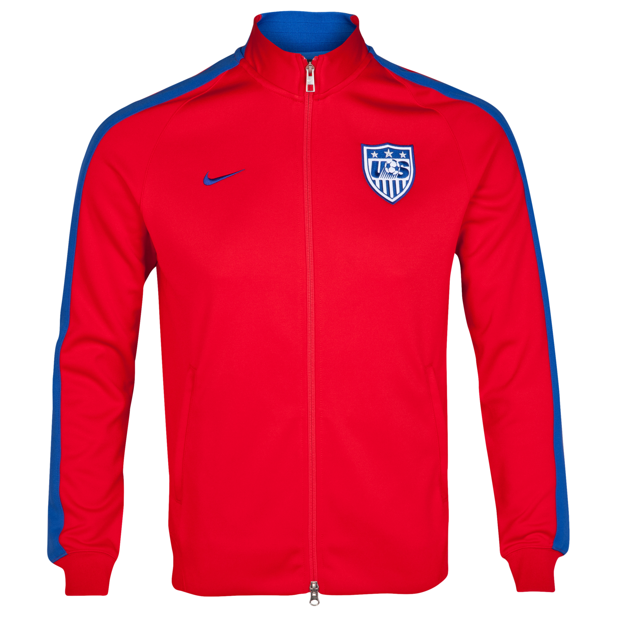 USA N98 Authentic Track Jacket Red