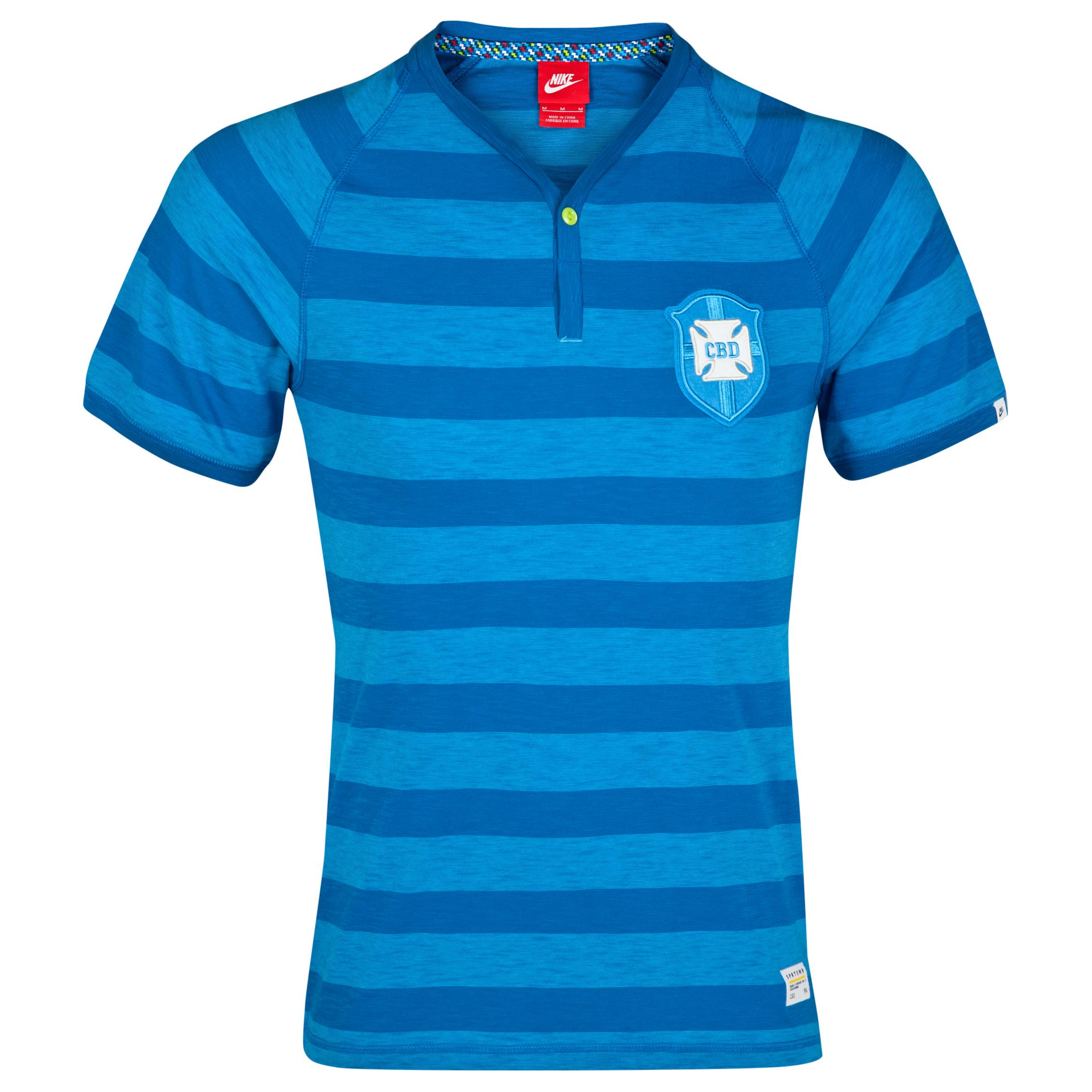 Brazil Covert Henley T-Shirt