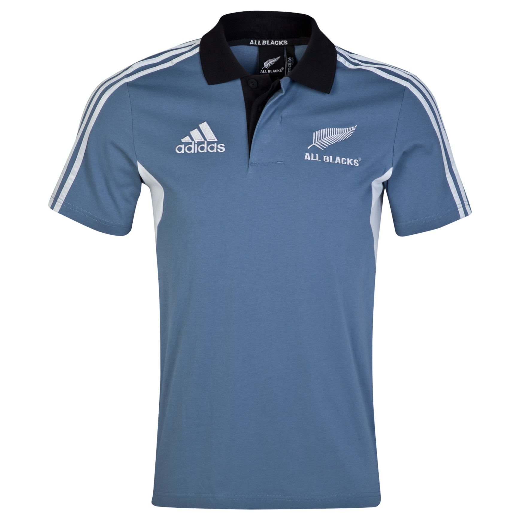 New Zealand All Blacks Training Polo Grey