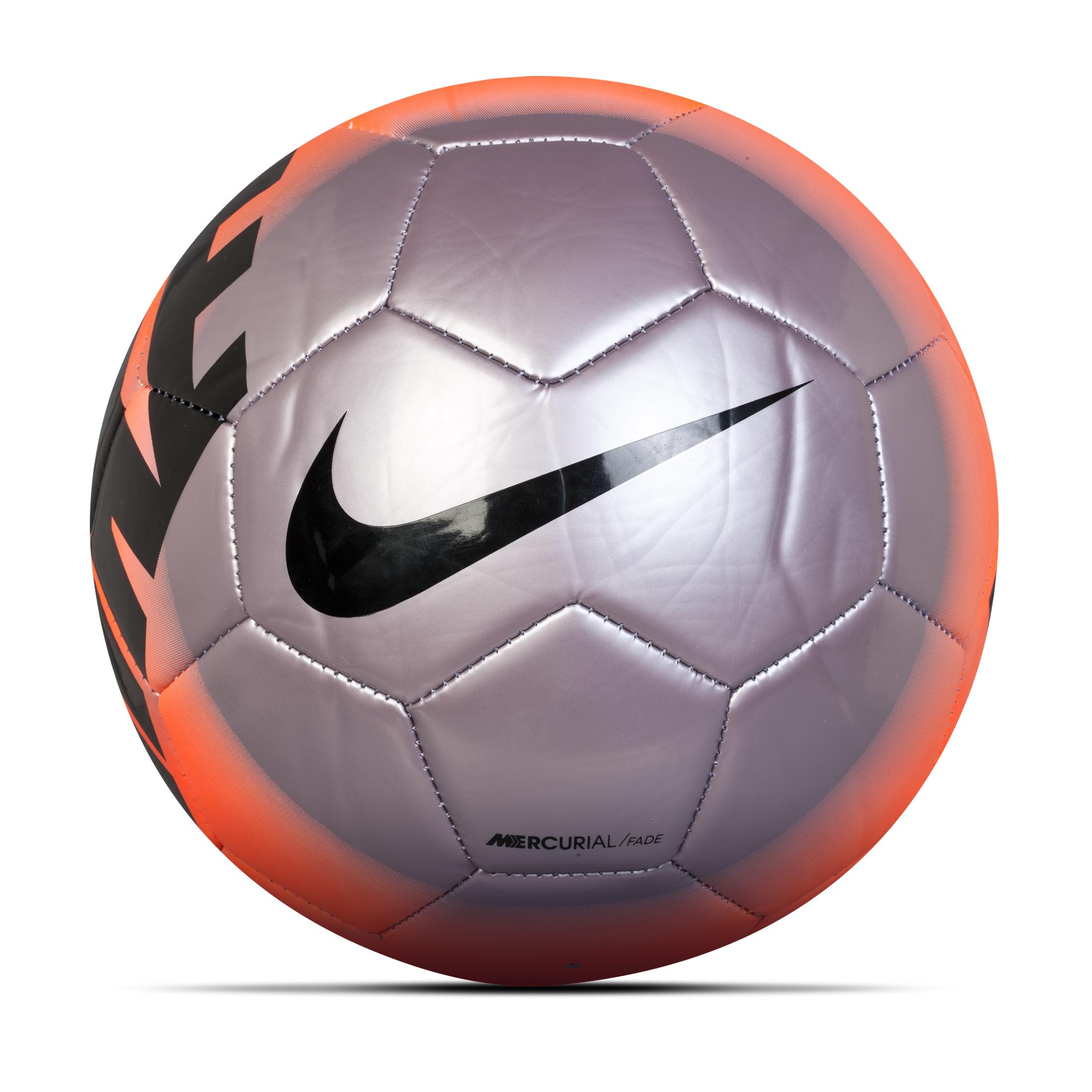 Nike Mercurial Fade Football Size 5 Silver