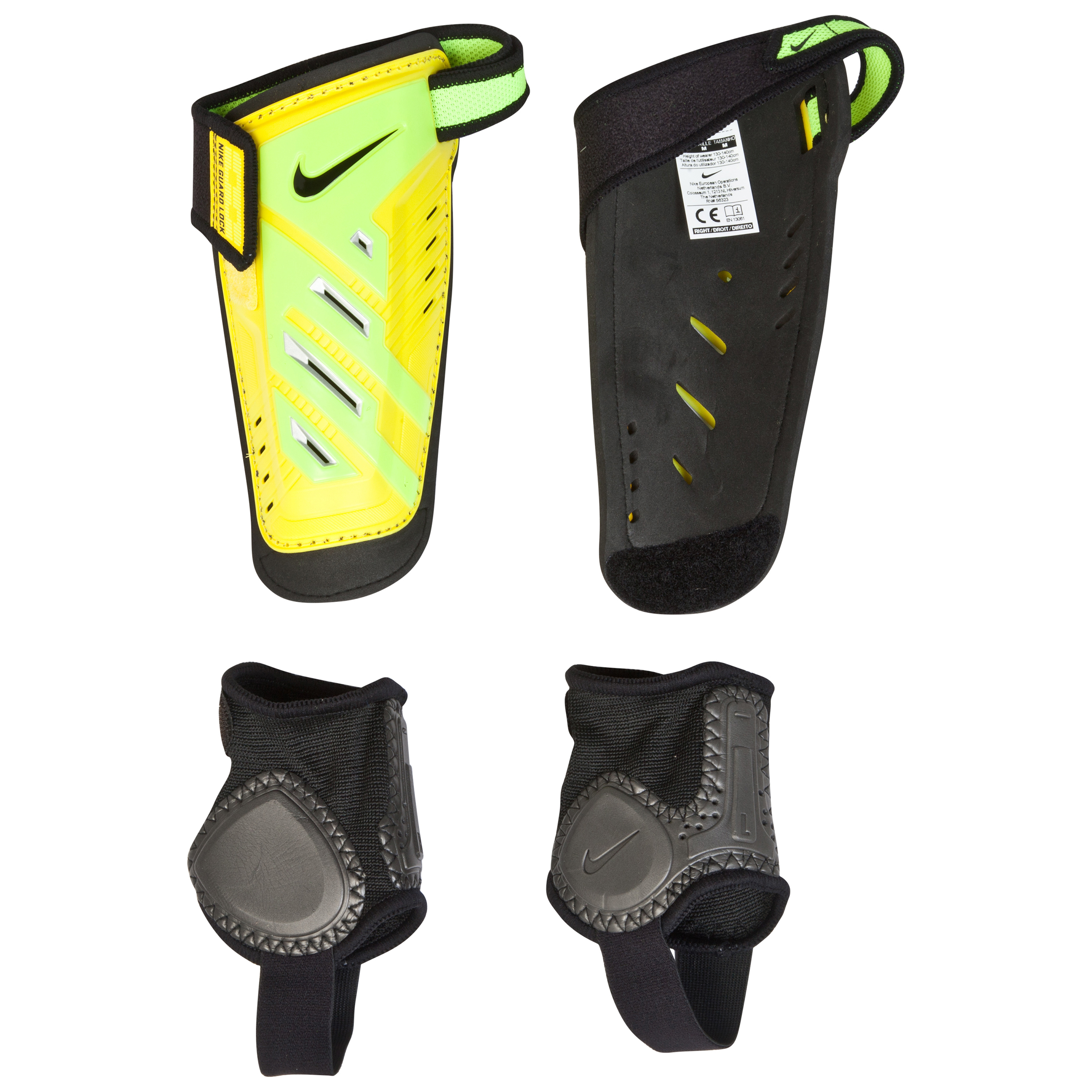 Nike Protegga Shield Shin Pad Yth Yellow