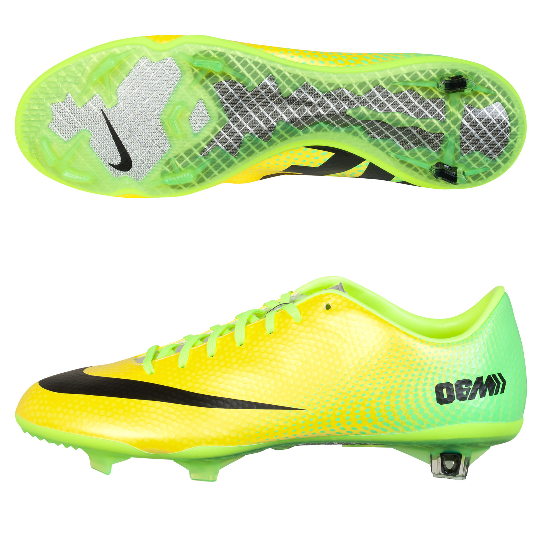 Nike Mercurial Vapor IX Firm Ground Football Boots Yellow