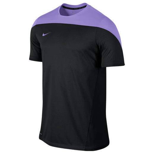 Nike Squad SS Heather Top Black