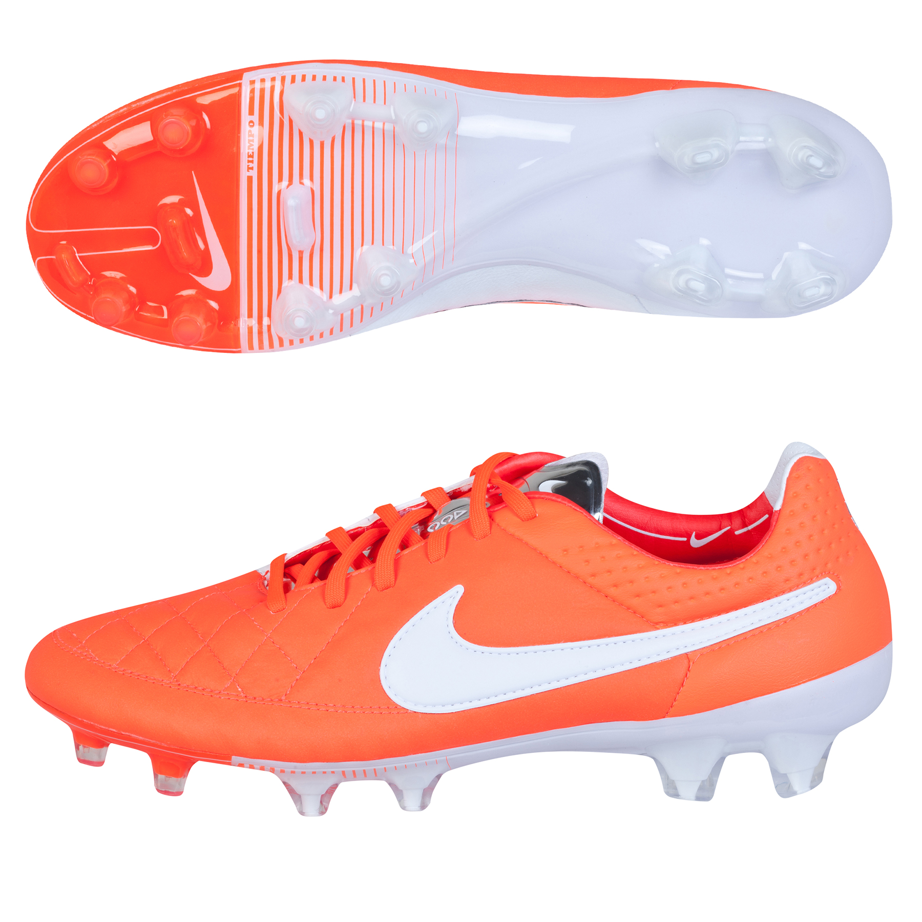 Nike Tiempo Legend V Firm Ground Football Boots Orange