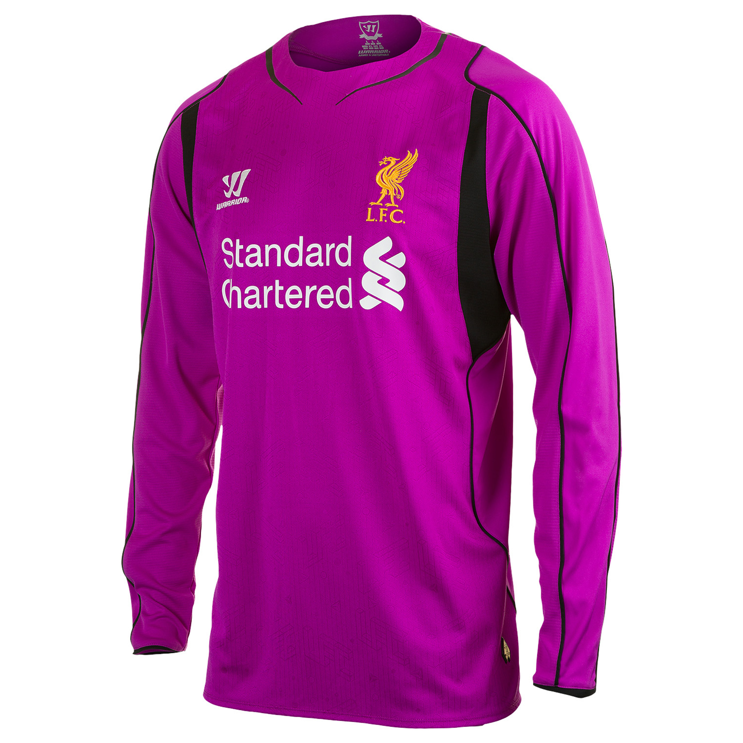 Liverpool Home Goalkeeper Shirt 2014/15 Long Sleeve Purple