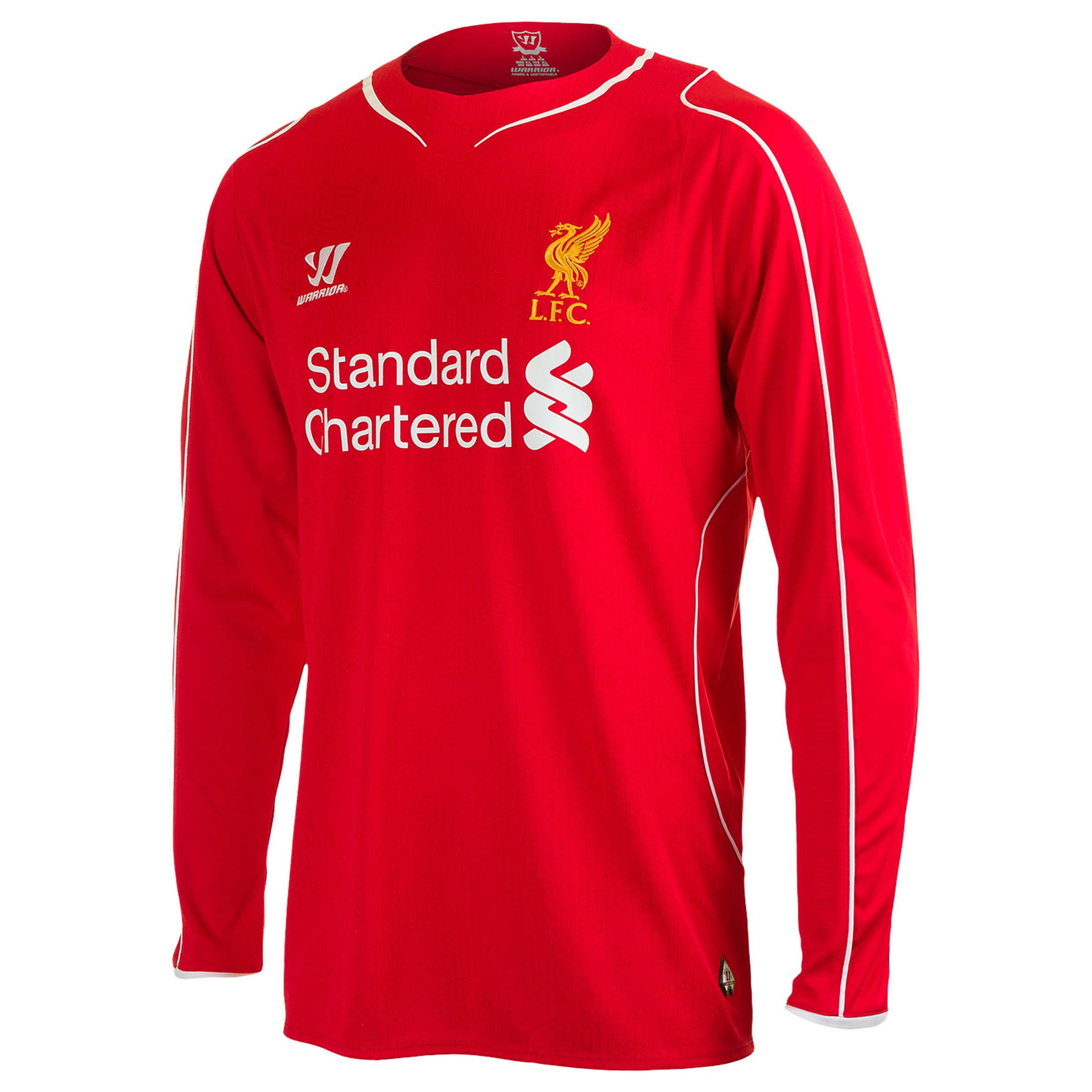 Liverpool Home Shirt 2014/15 Long Sleeved - Kids Red