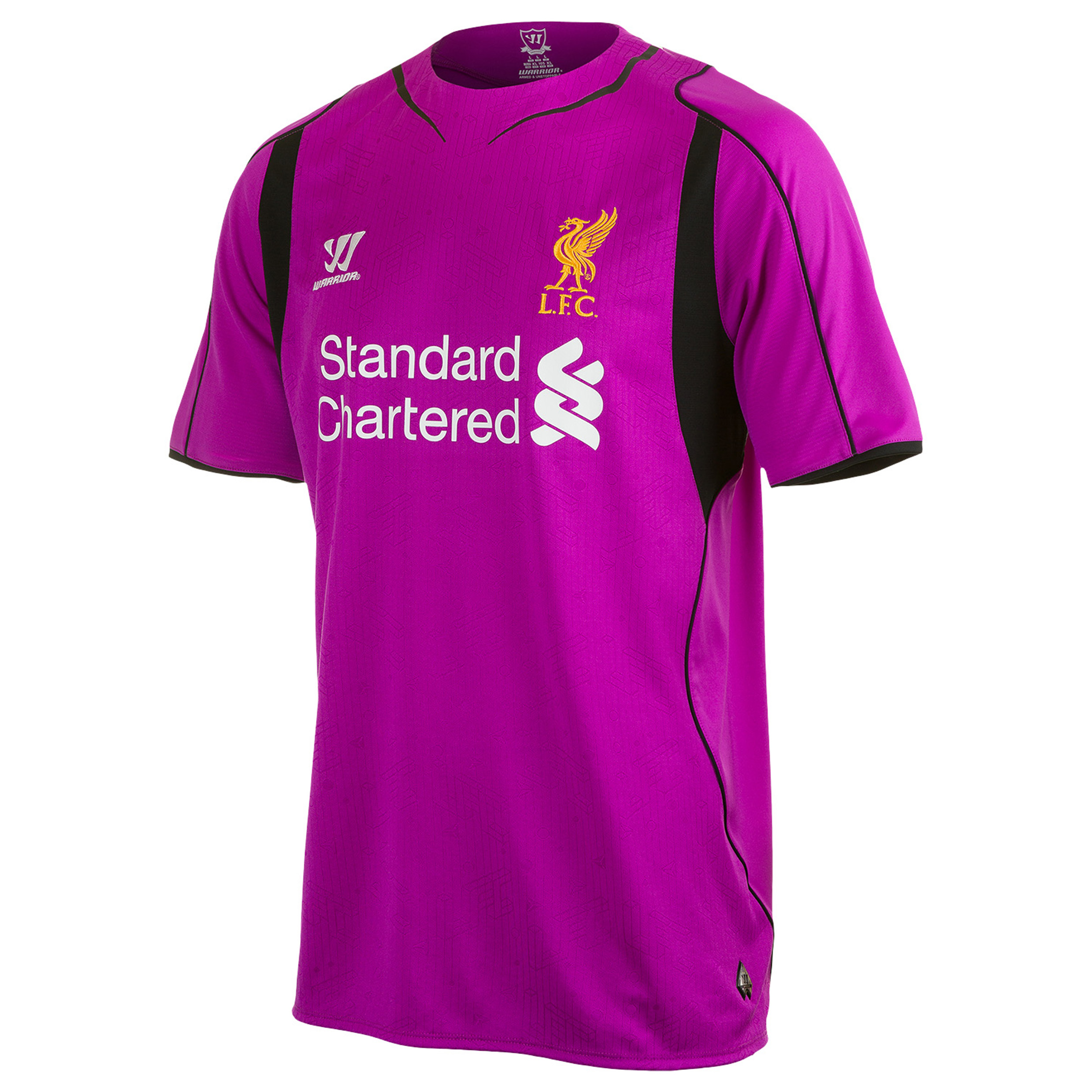Liverpool Home Goalkeeper Shirt 2014/15 Short Sleeve - Kids Purple