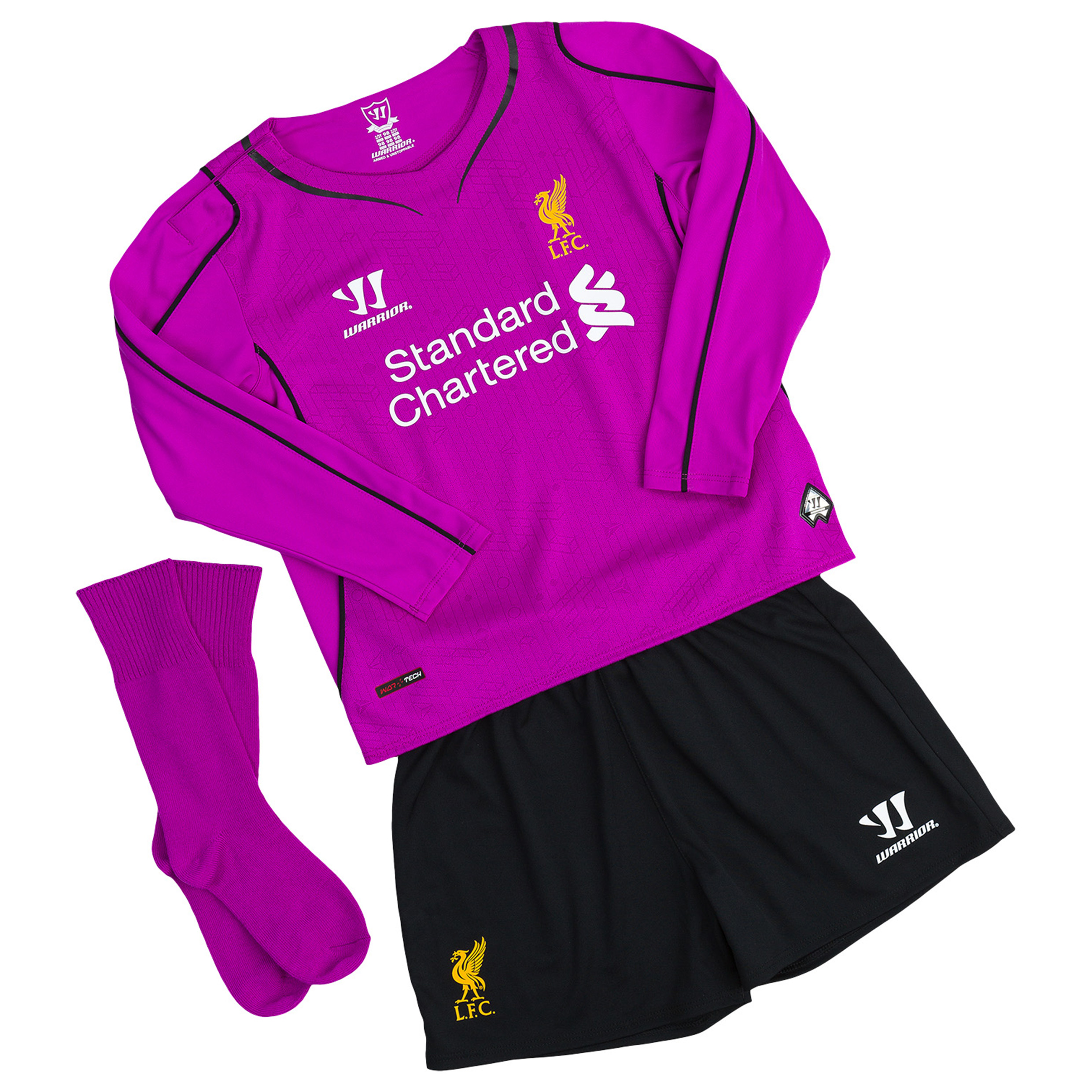 Liverpool Home Goalkeeper InfantKit 2014/15 Purple