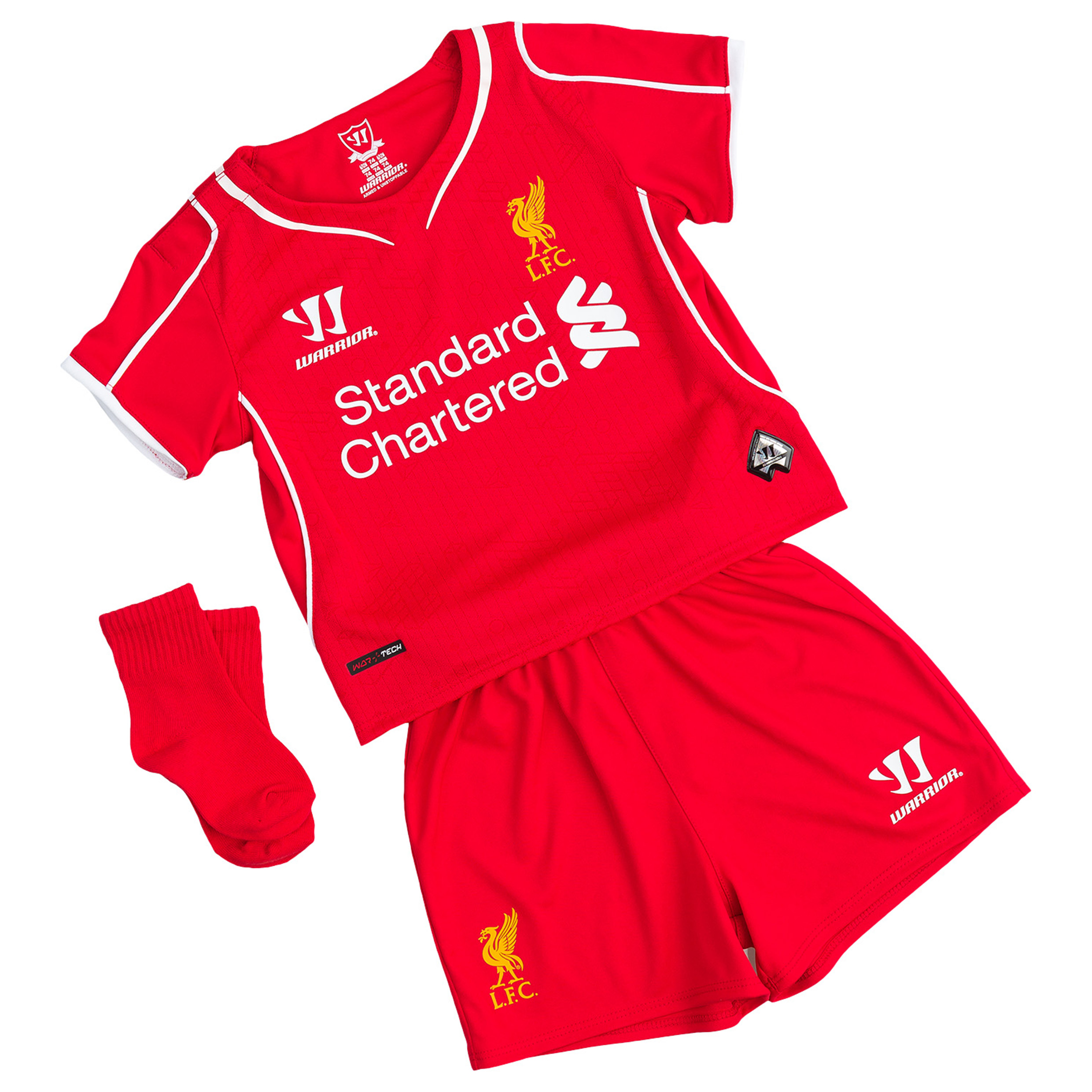 Buy Liverpool Home Baby Kit 2014/15 Red