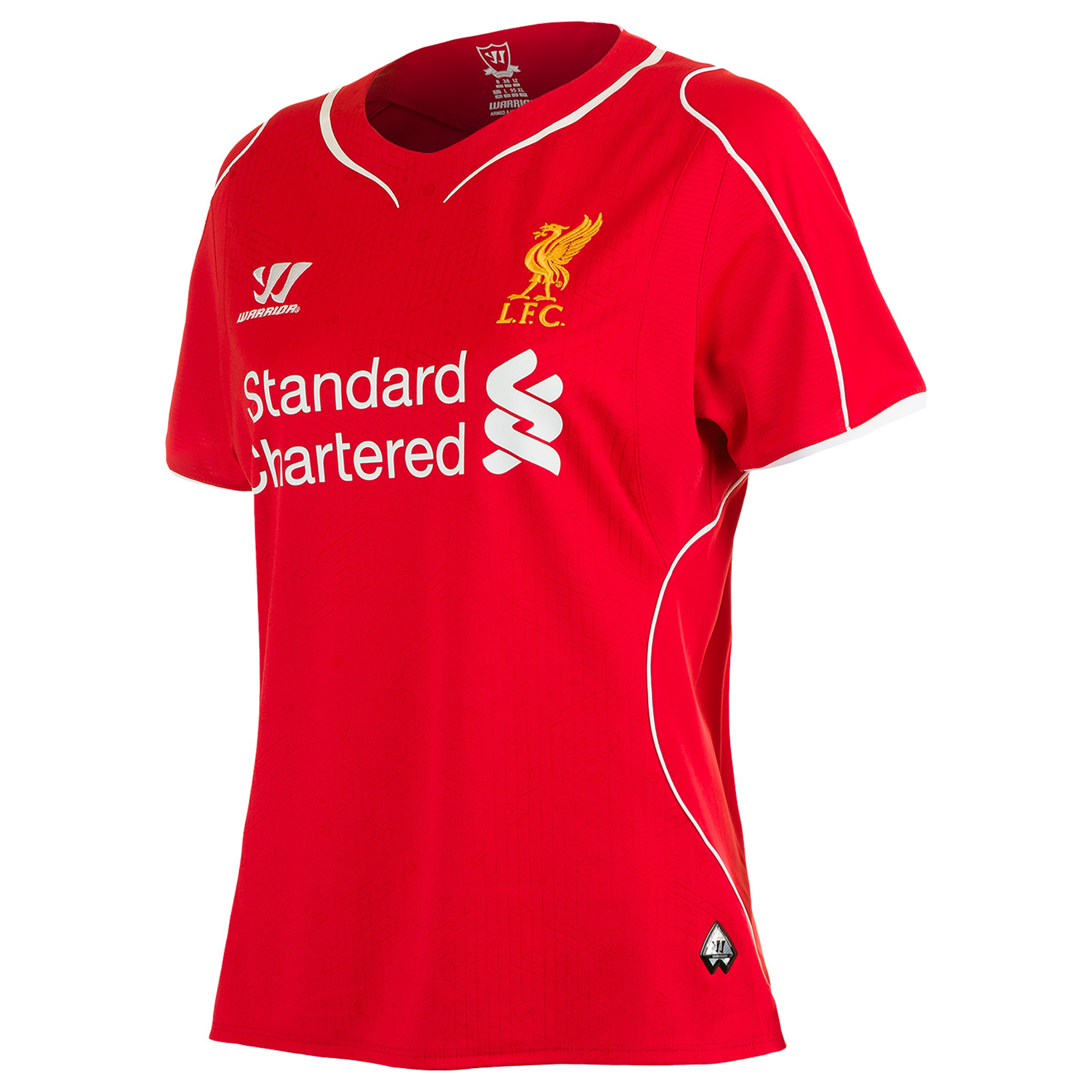 Buy Liverpool Home Kit 2014/15 Womens Red