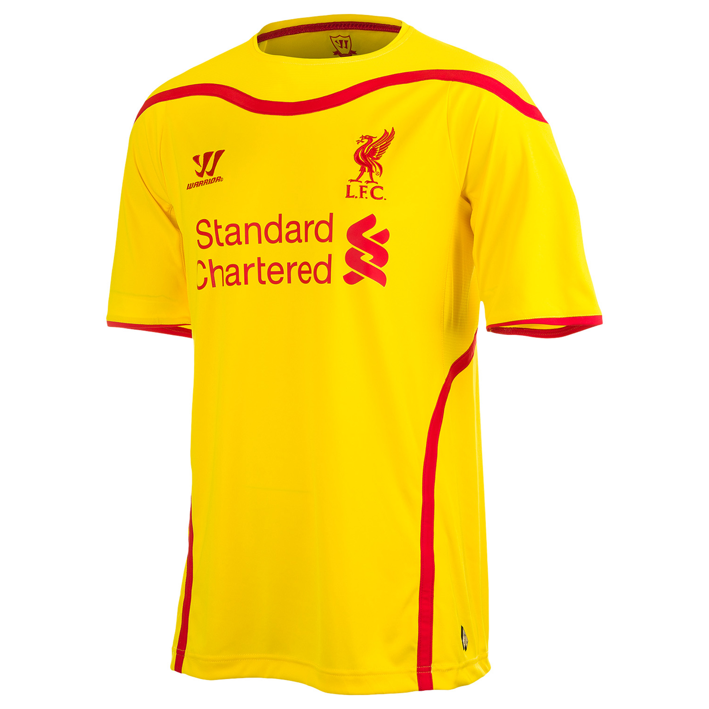 Buy Liverpool Away Kit 2014/15 Yellow