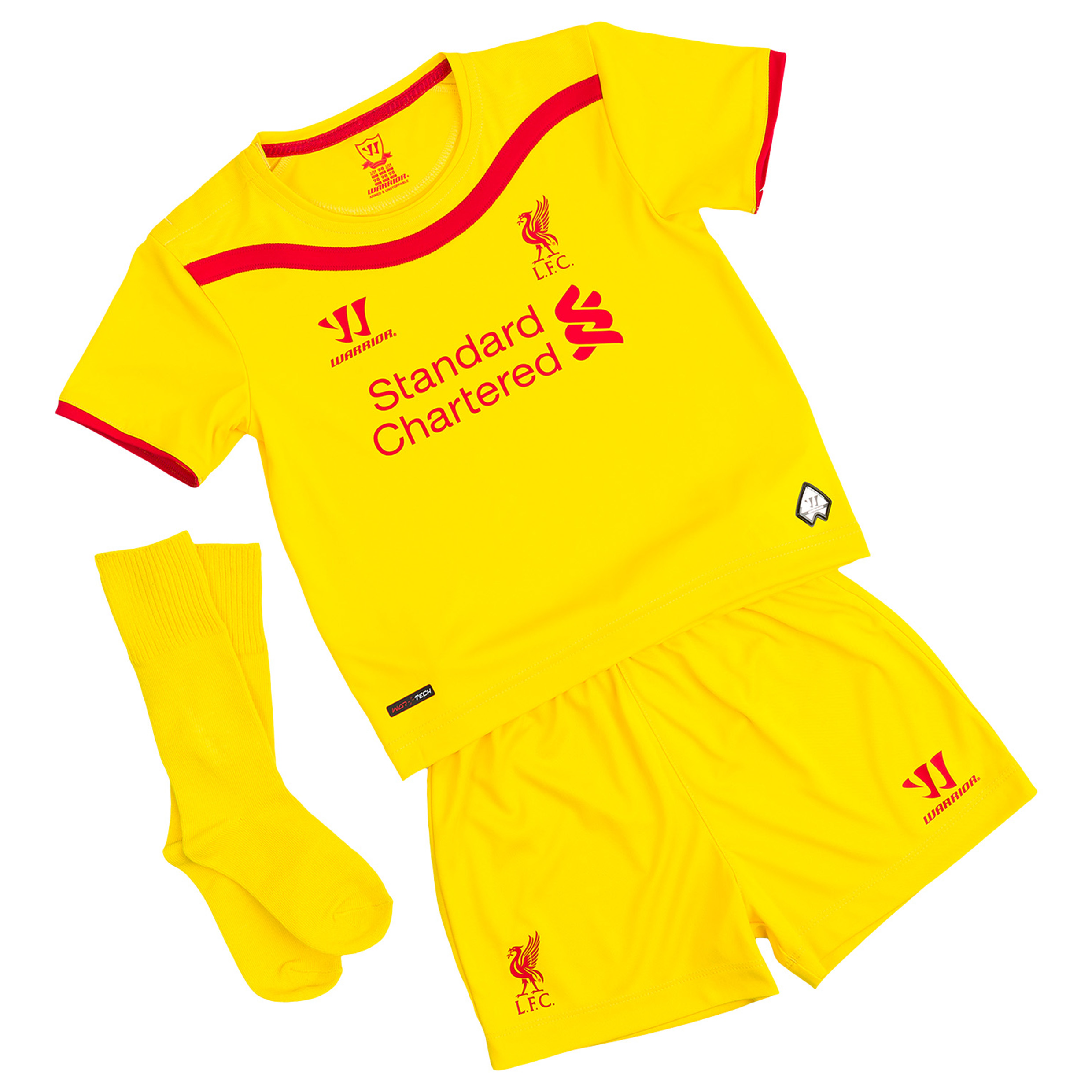 Buy Liverpool Away Infant Kit 2014/15 Yellow