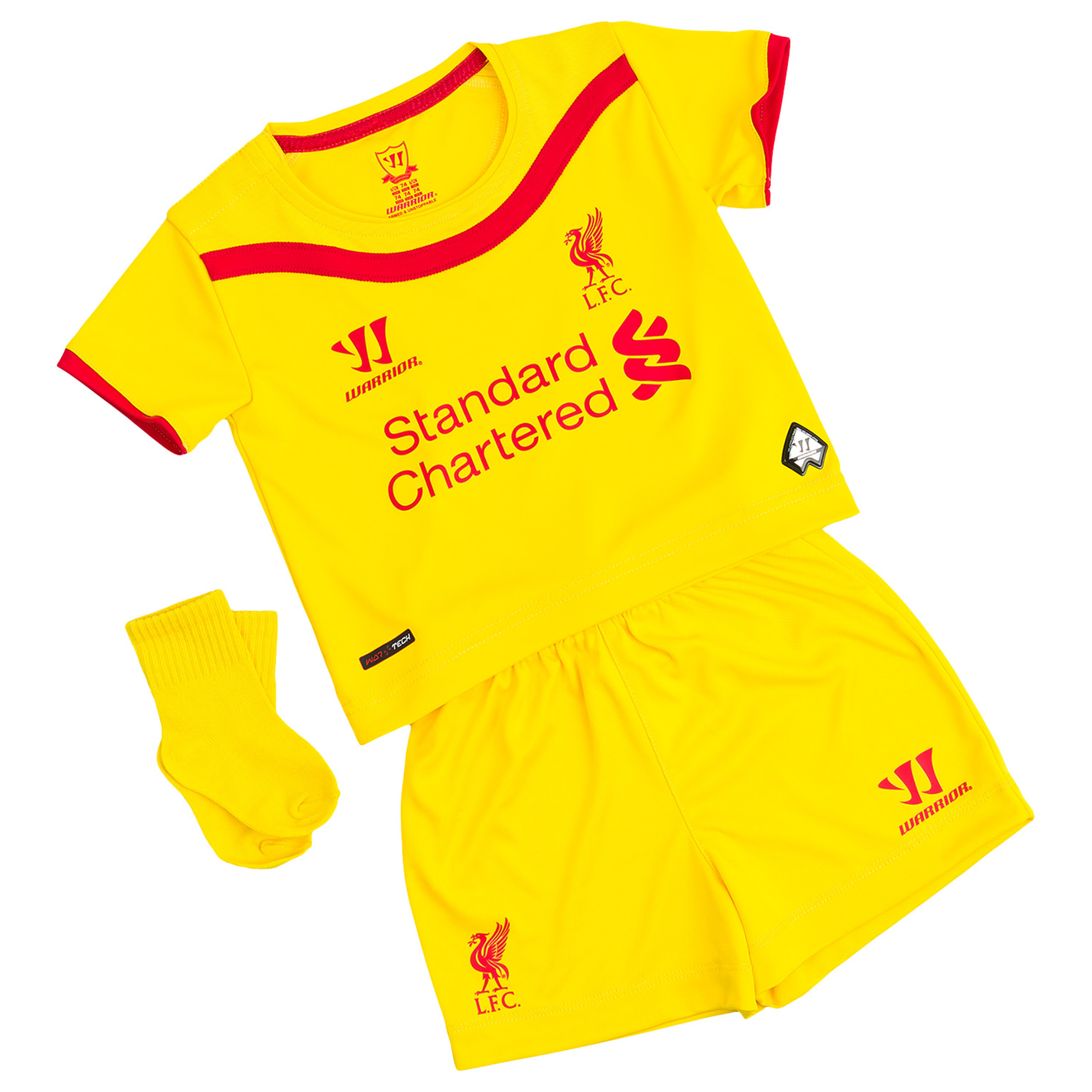 Buy Liverpool Away Baby Kit 2014/15 Yellow