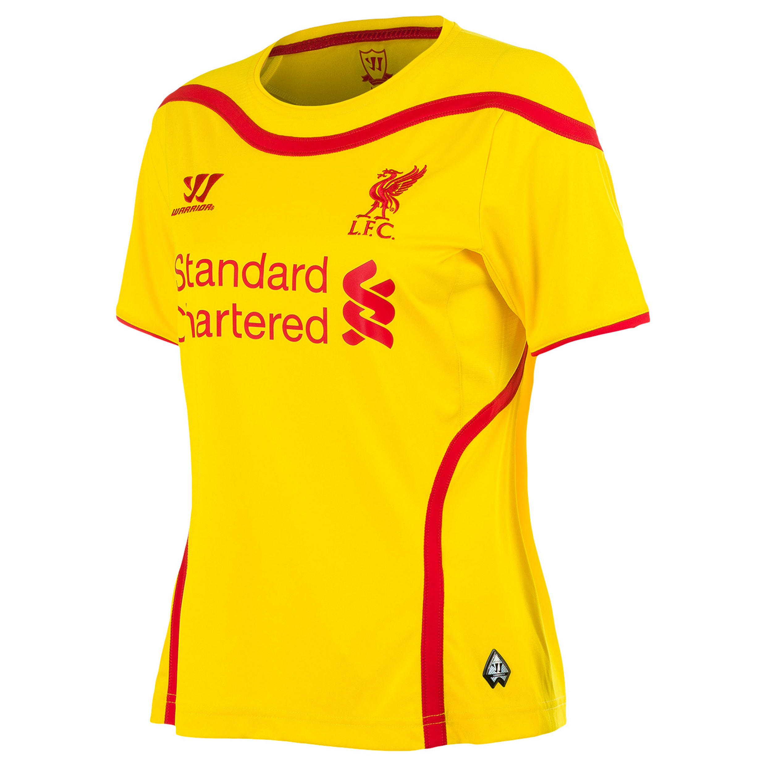 Buy Liverpool Away Kit 2014/15 Womens Yellow