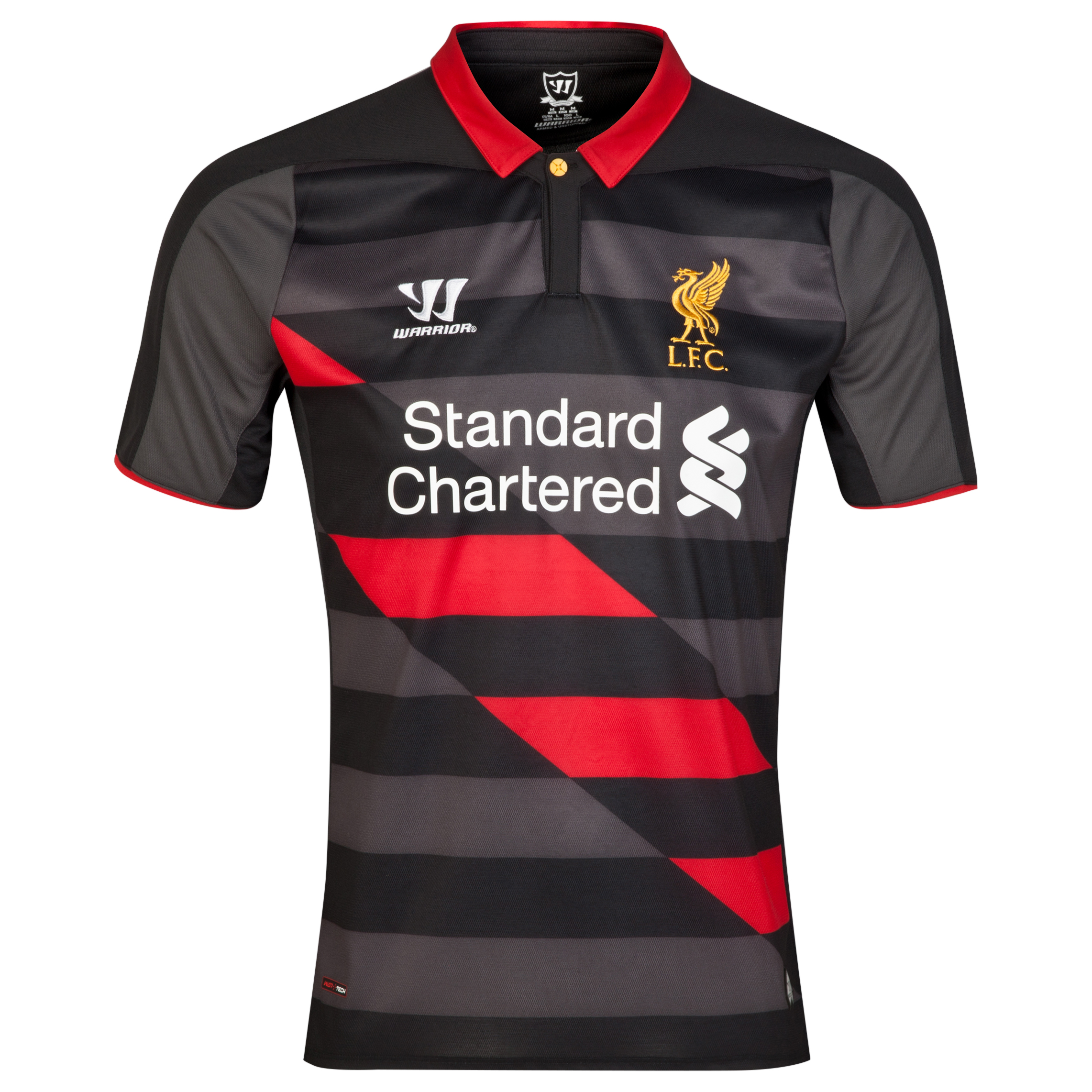 Liverpool Third Shirt 2014/15 Black