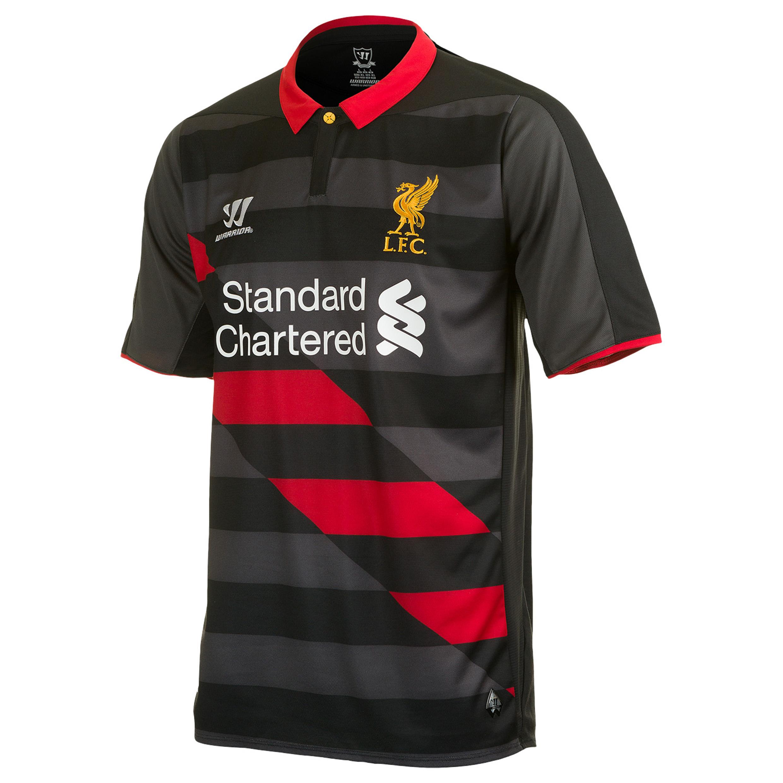 Liverpool Third Shirt 2014/15 Kids Black