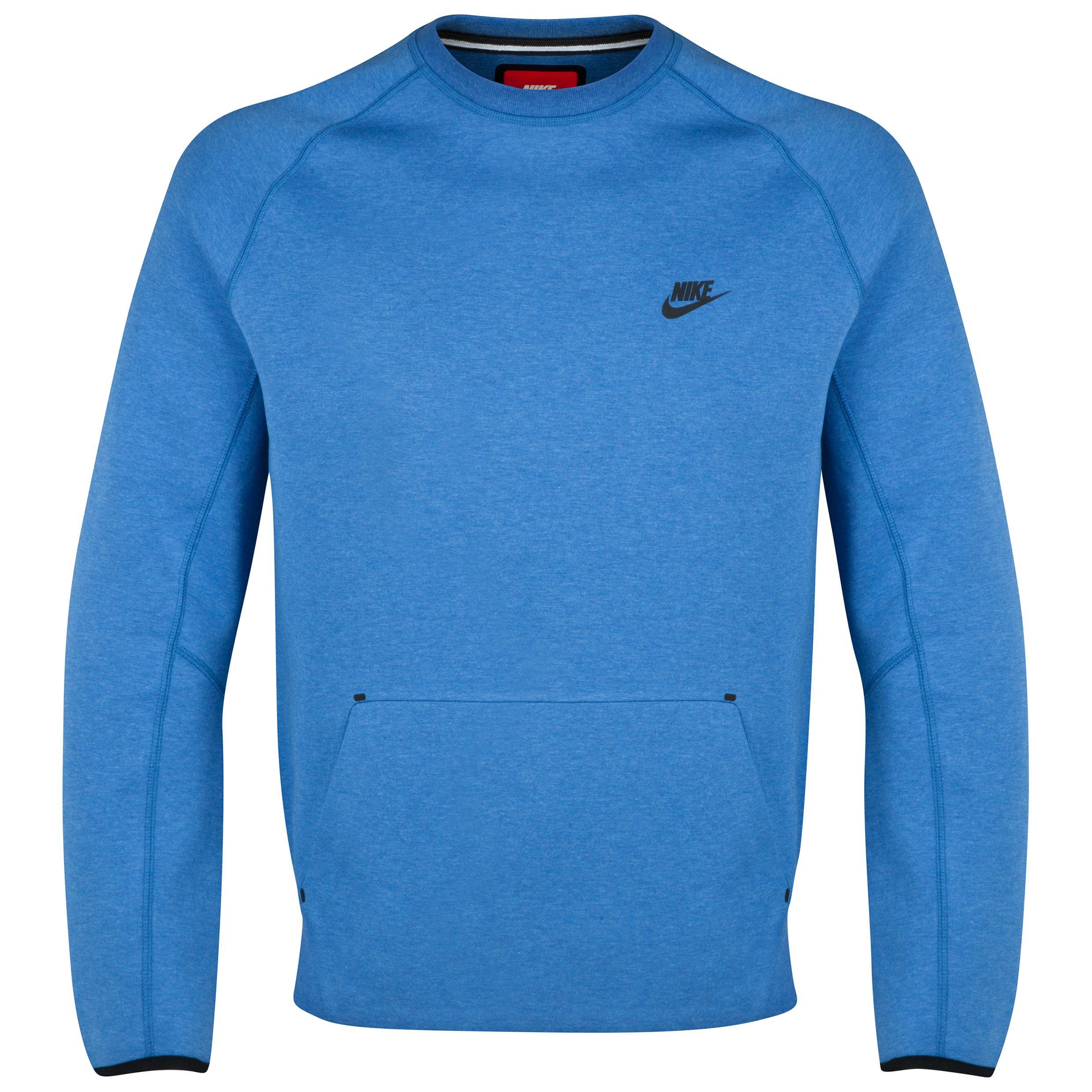 Brazil Tech Fleece Crew Top Royal Blue